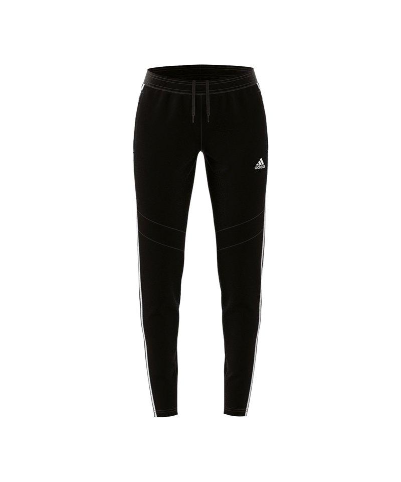 adidas Tiro 19 Trainingshose Pant Damen Schwarz - schwarz