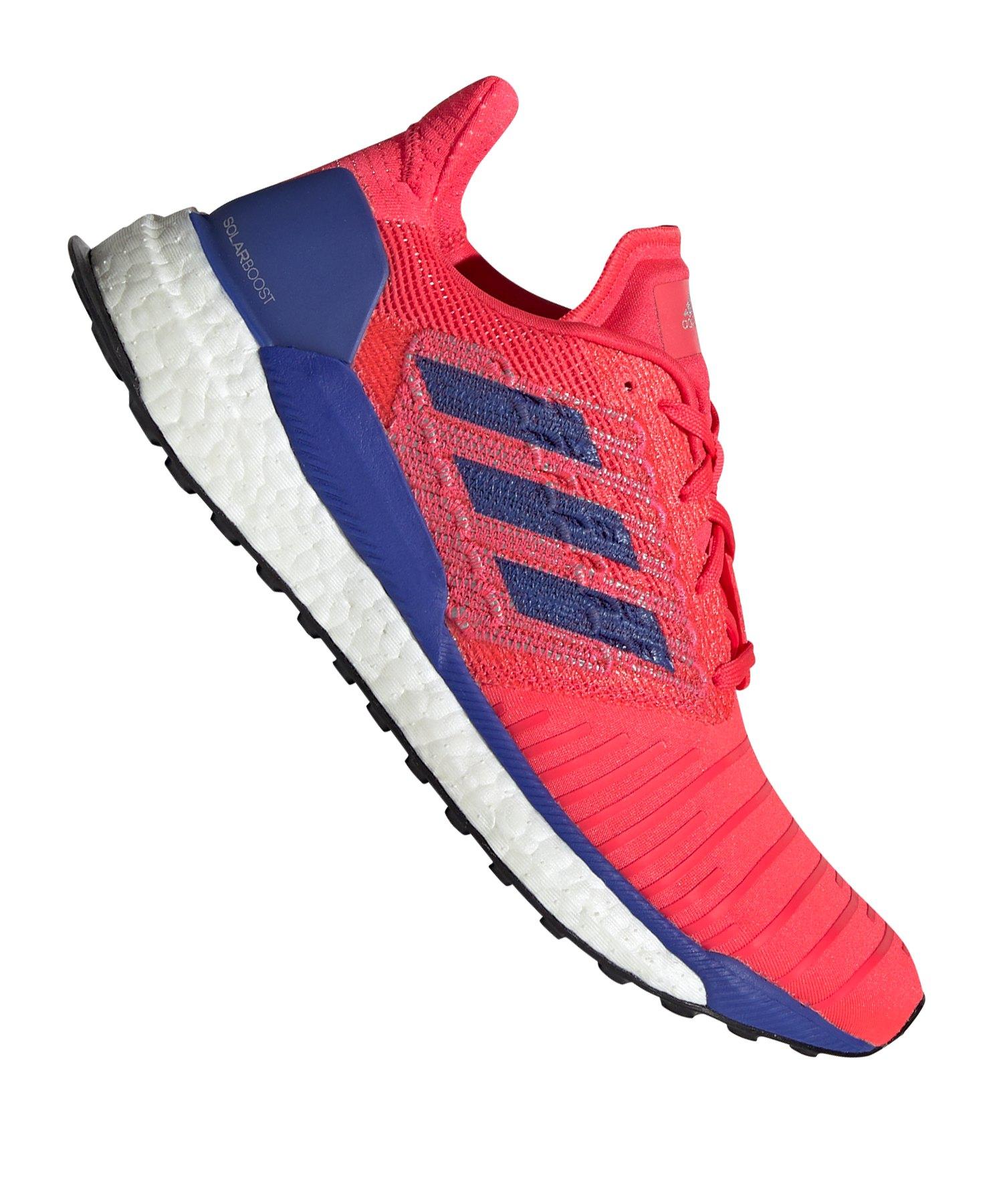 adidas Solar Boost Running Damen Rot Blau