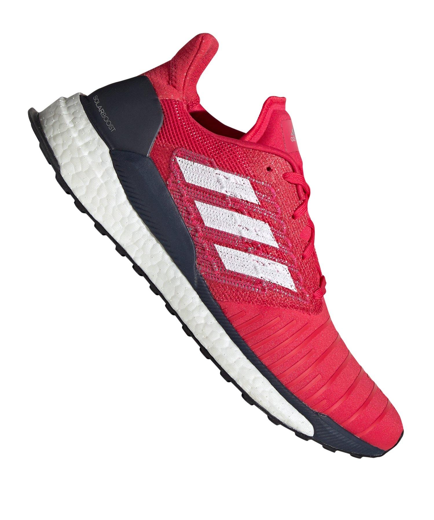 adidas Solar Boost Running Pink Weiss - pink