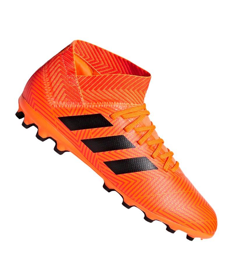 adidas NEMEZIZ 18.3 AG J Kids Orange Schwarz - orange