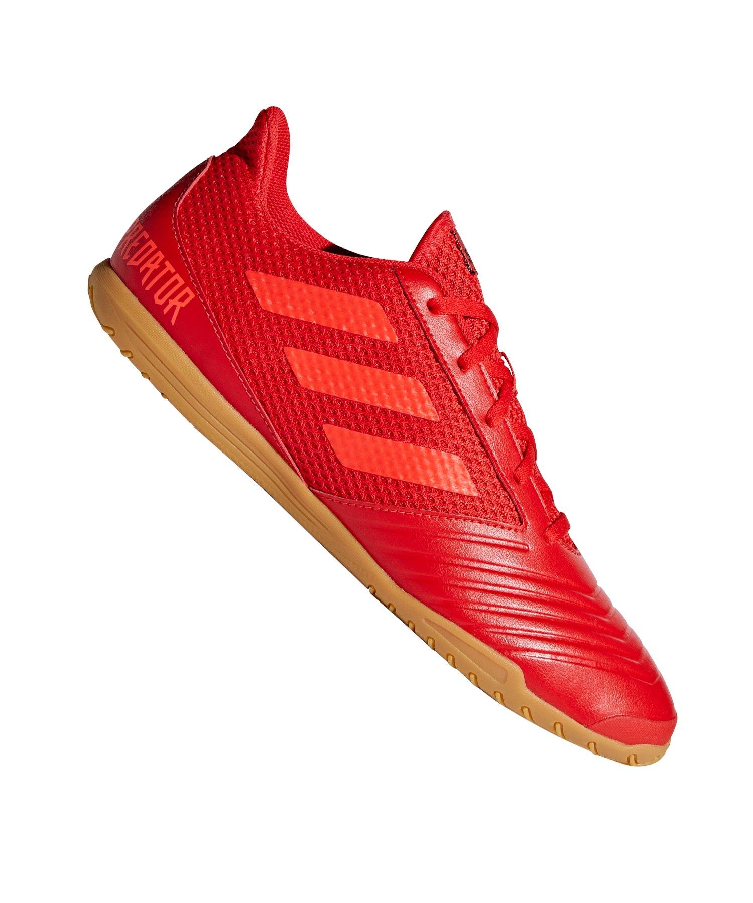 adidas Predator 19.4 IN Sala Rot Schwarz - rot