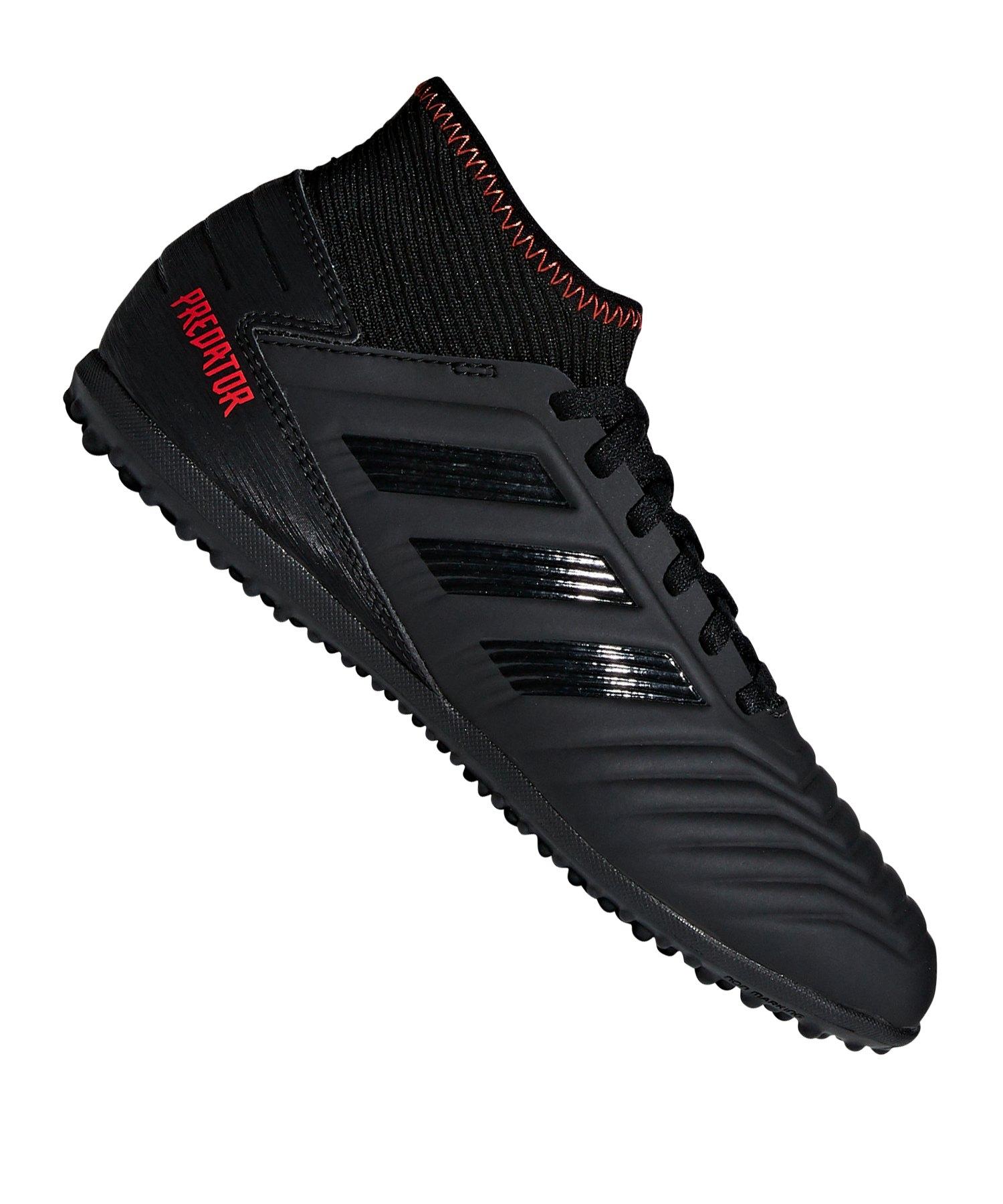 adidas Predator 19.3 TF J Kids Schwarz - schwarz