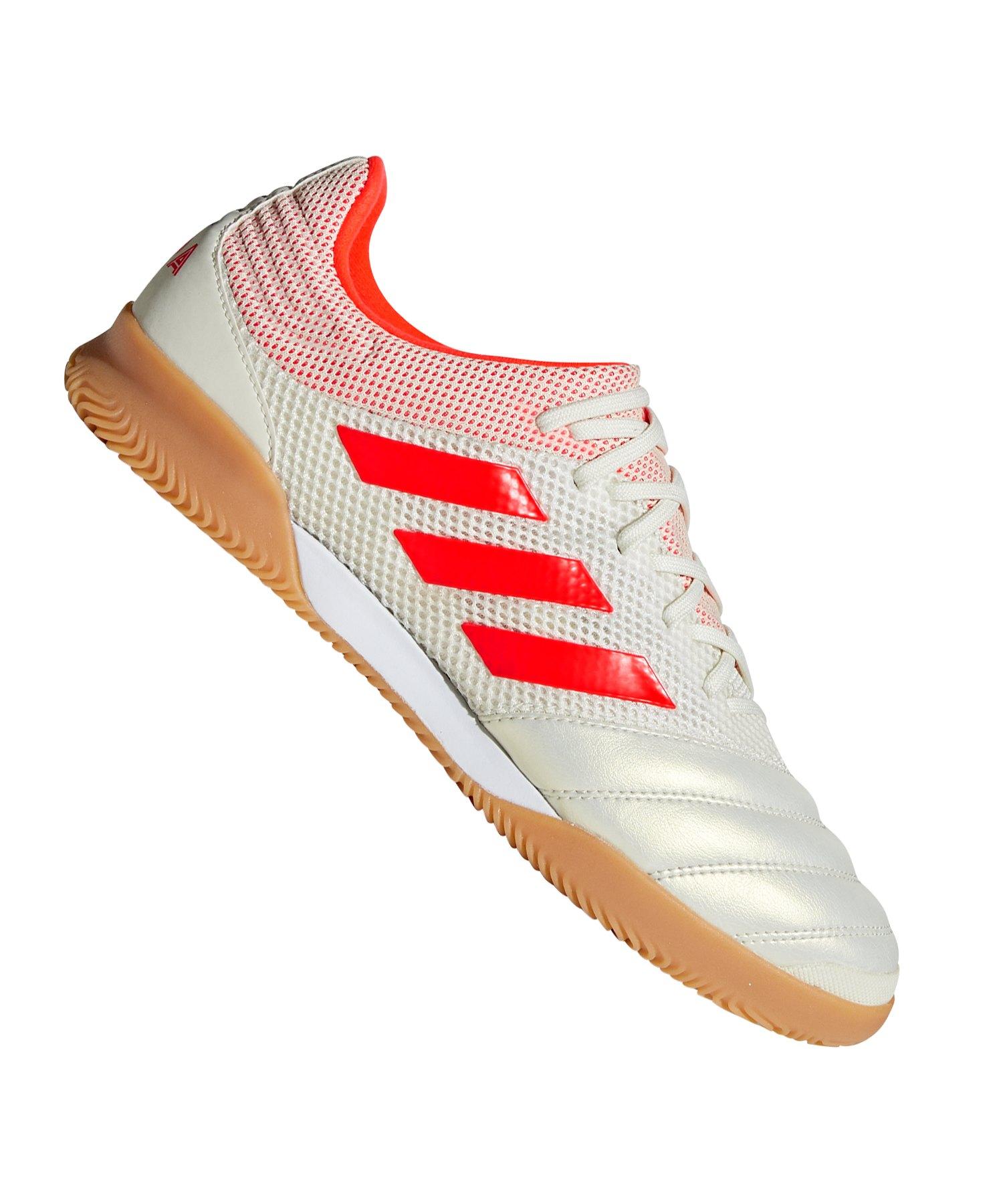 Straßenpreis klar und unverwechselbar Einzelhandelspreise adidas COPA 19.3 IN Sala Weiss Rot