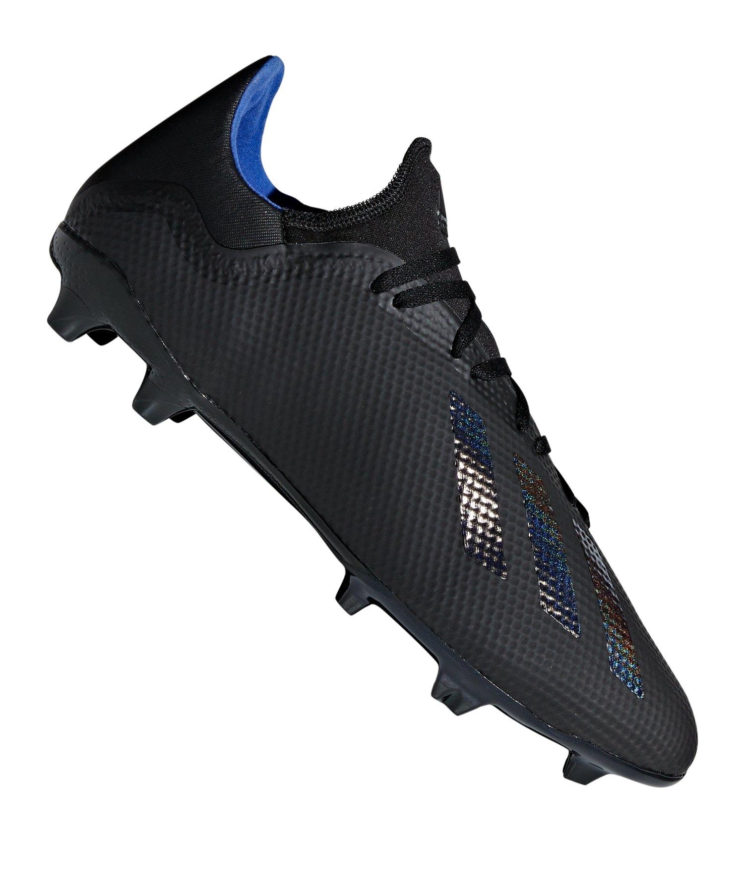 adidas X 18.3 FG Schwarz - schwarz