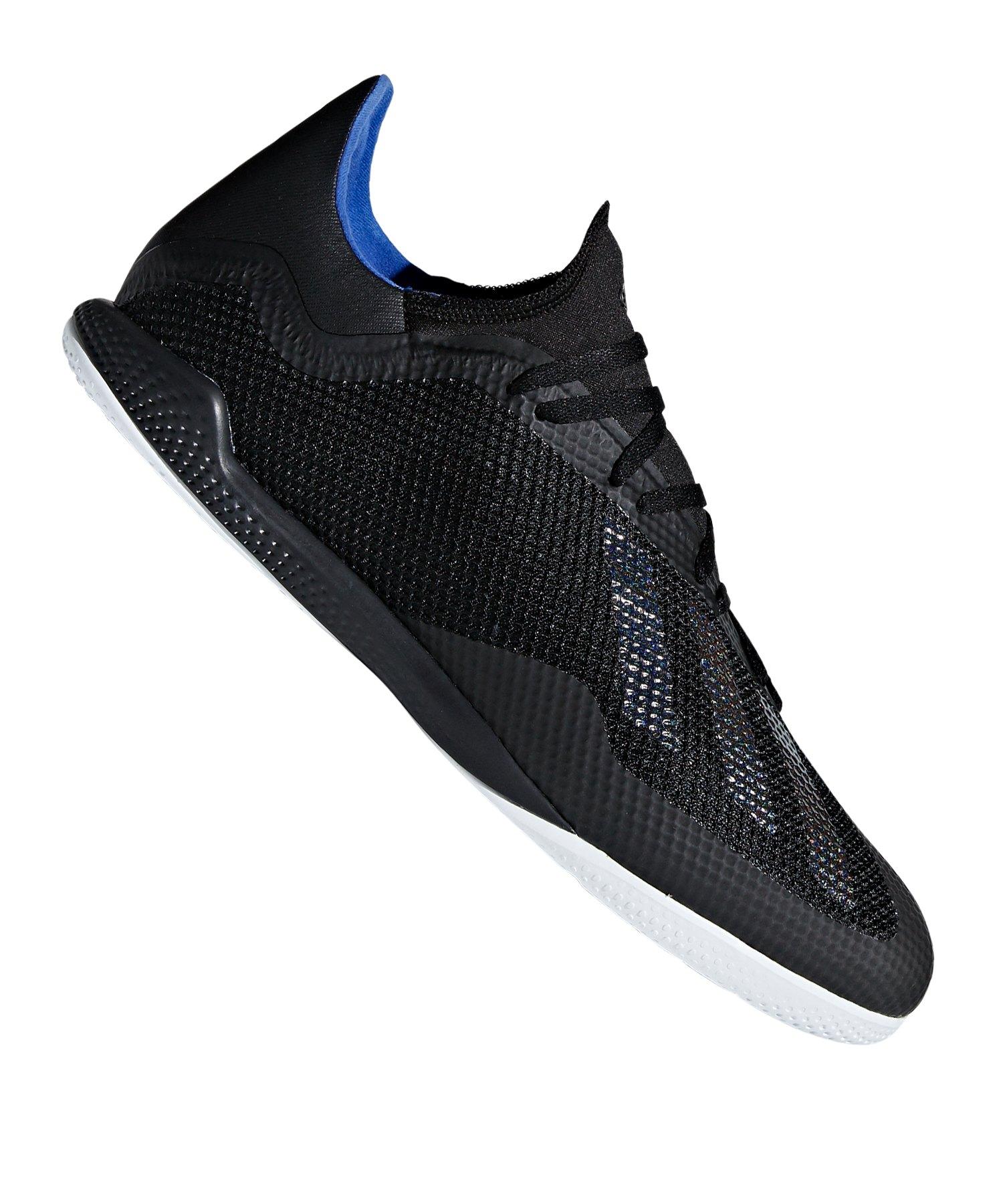 adidas X 18.3 IN Halle Schwarz - schwarz