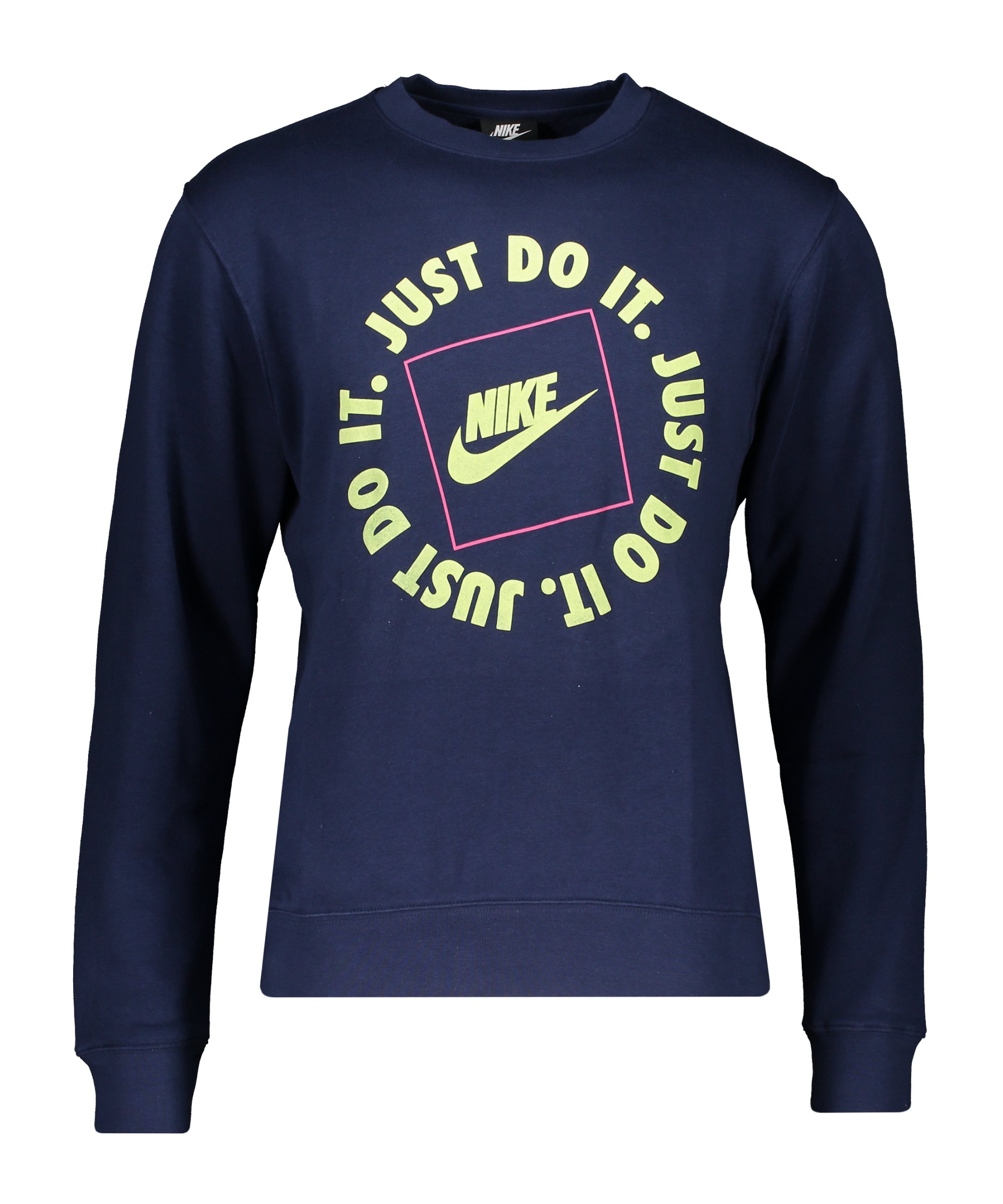 Nike Just Do It Fleece Sweatshirt Blau F410 - blau