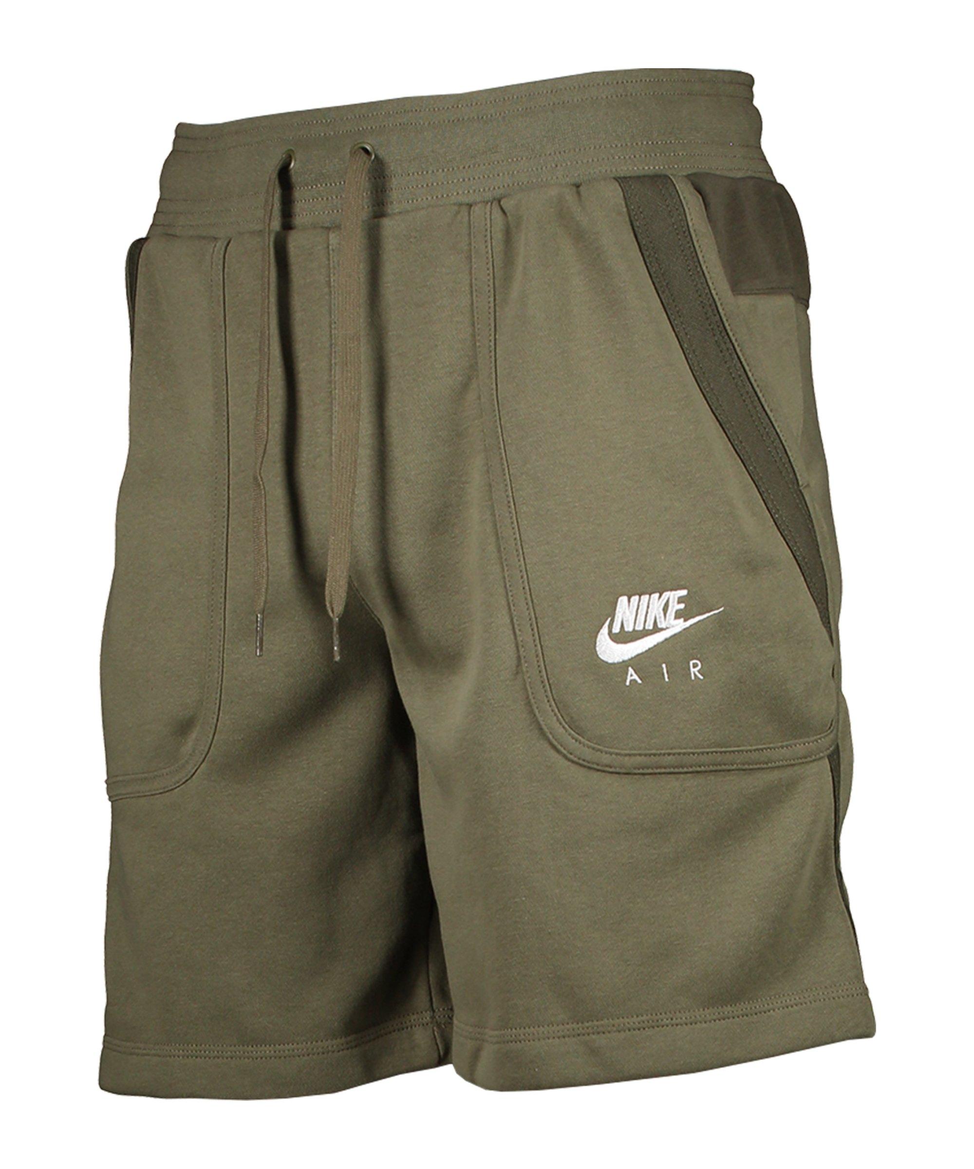 Nike Air Fleece Short Grün F222 - gruen
