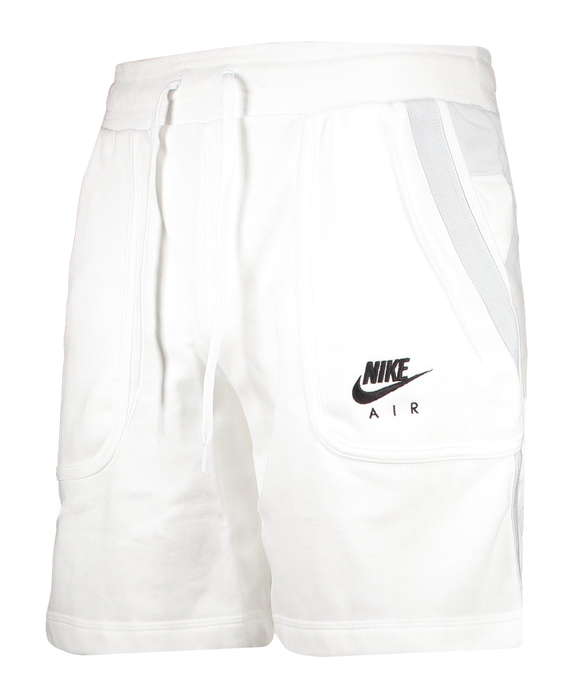 Nike Air Fleece Short Weiss F100 - weiss