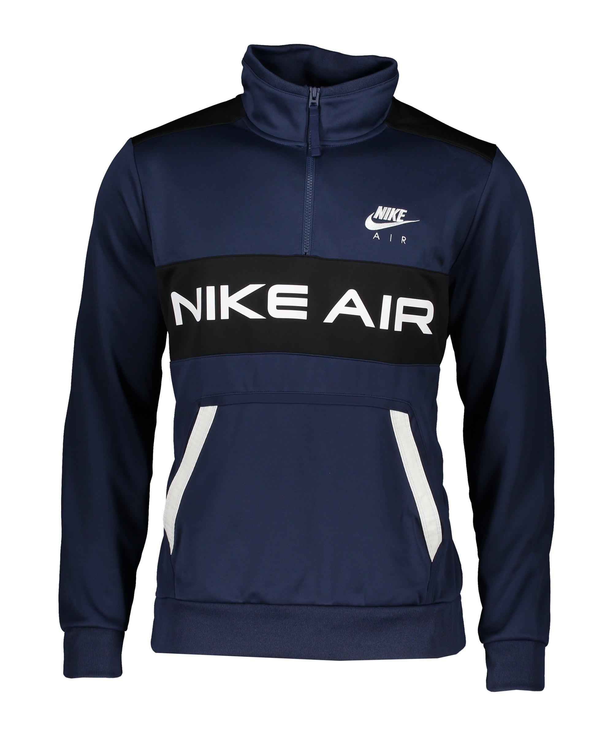 Nike Air Icon Jacke Blau Schwarz F410 - blau