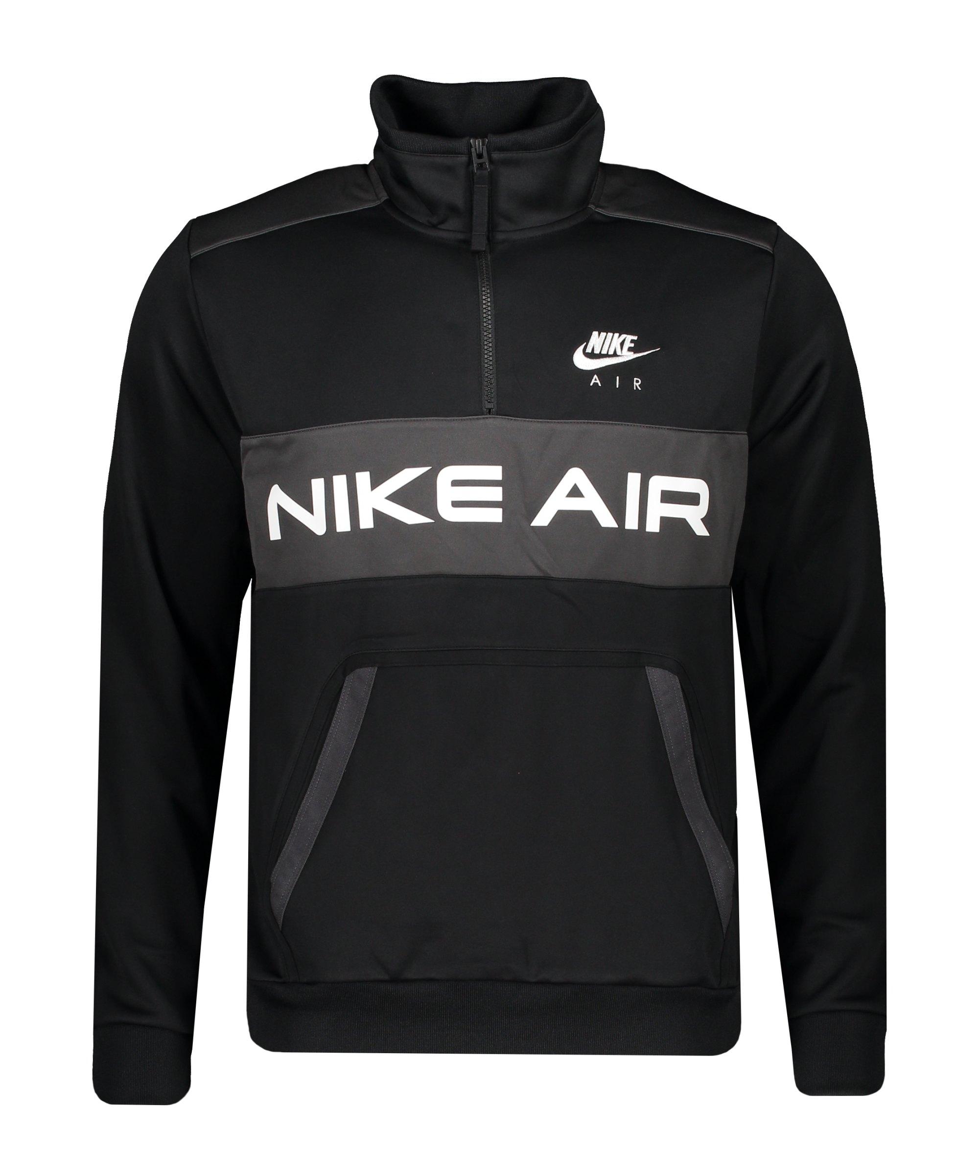 Nike Air Icon Jacke Schwarz Grau F010 - schwarz