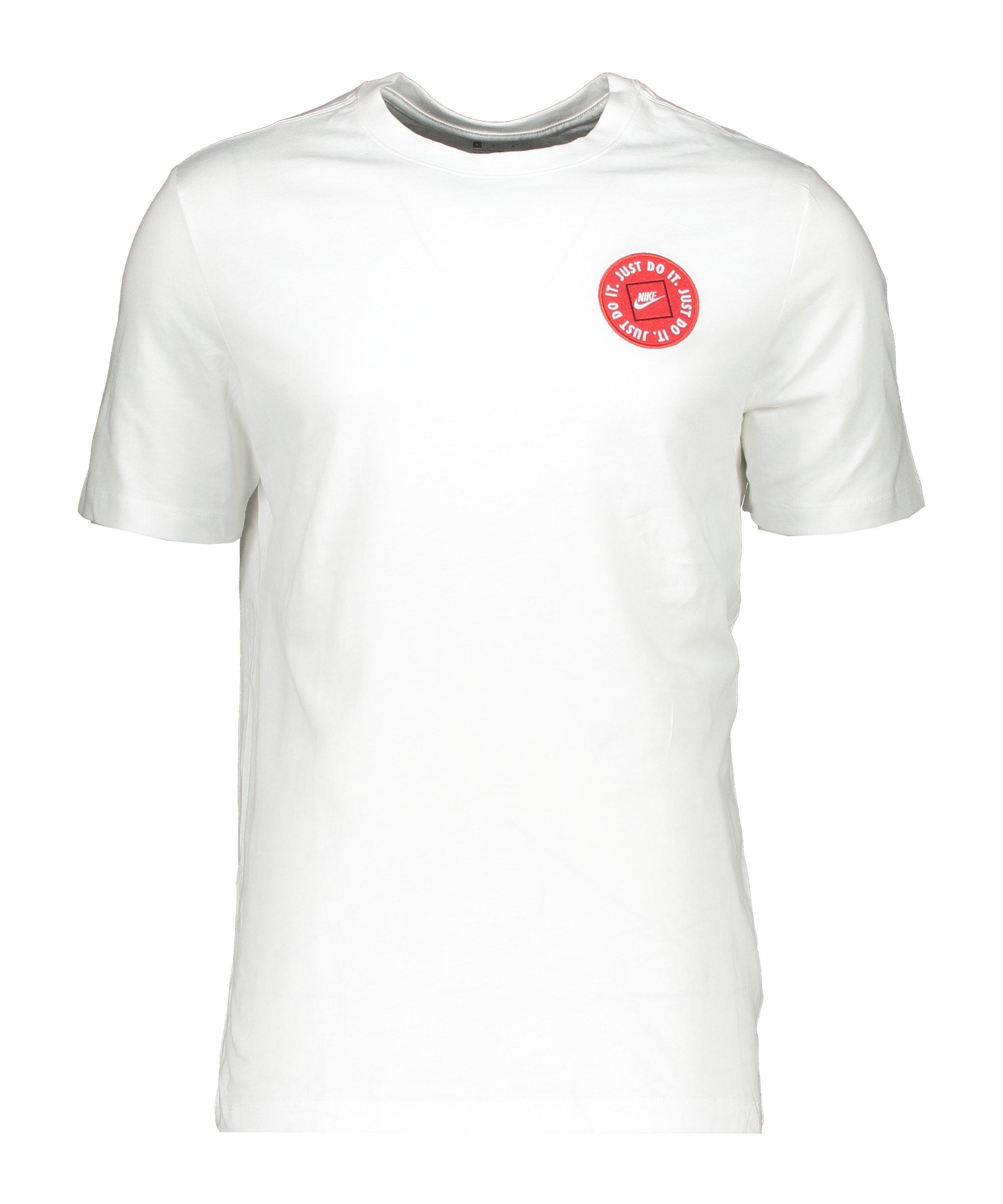 Nike Just Do It LBR 2 T-Shirt Weiss F100 - weiss