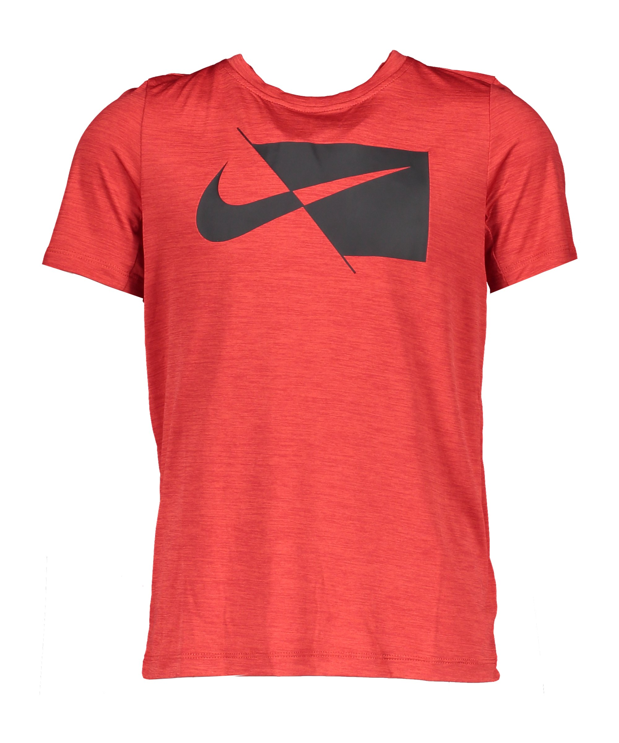 Nike HBR T-Shirt Kids Rot Schwarz F657 - rot