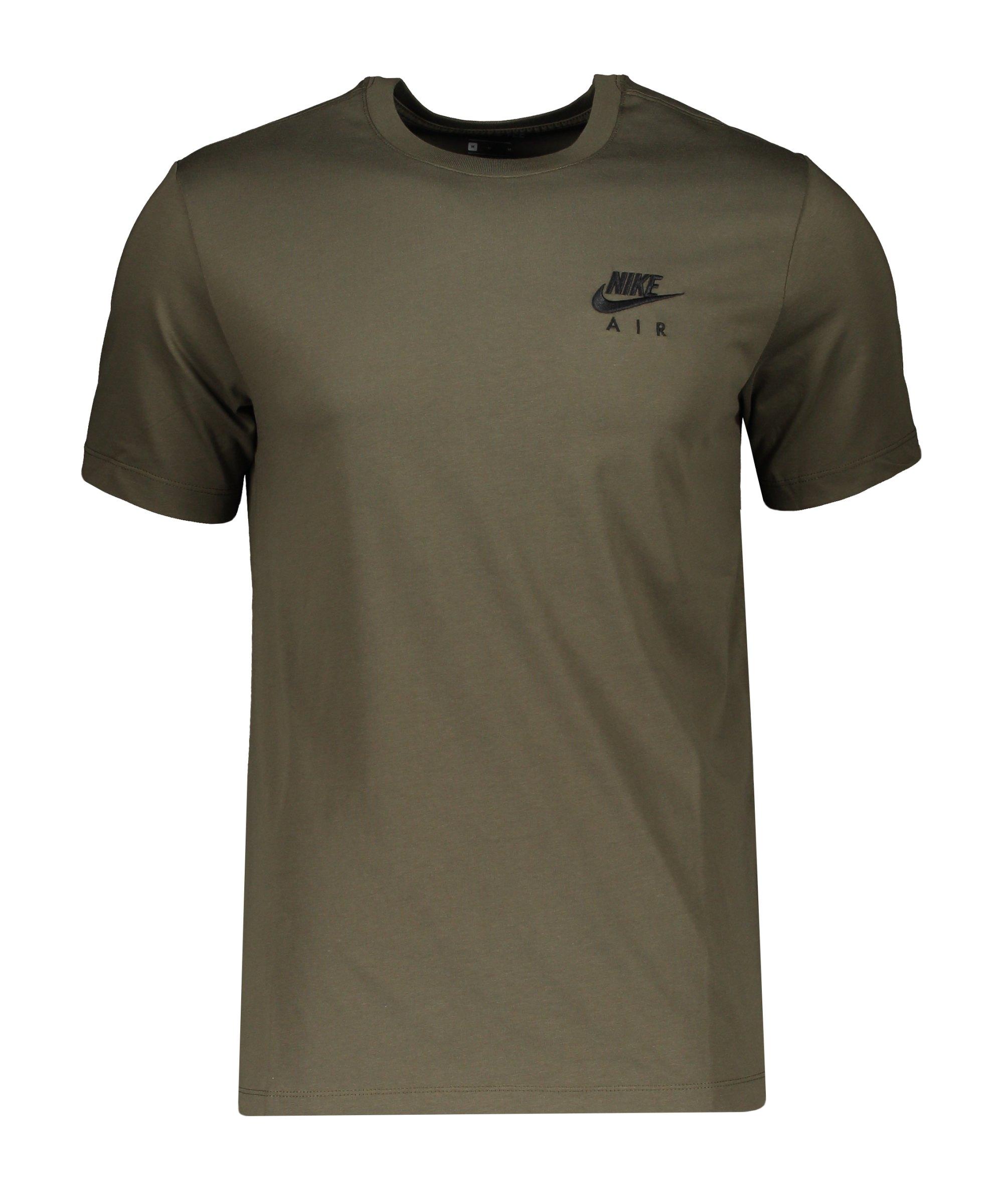 Nike Air LBR T-Shirt Grün F325 - gruen
