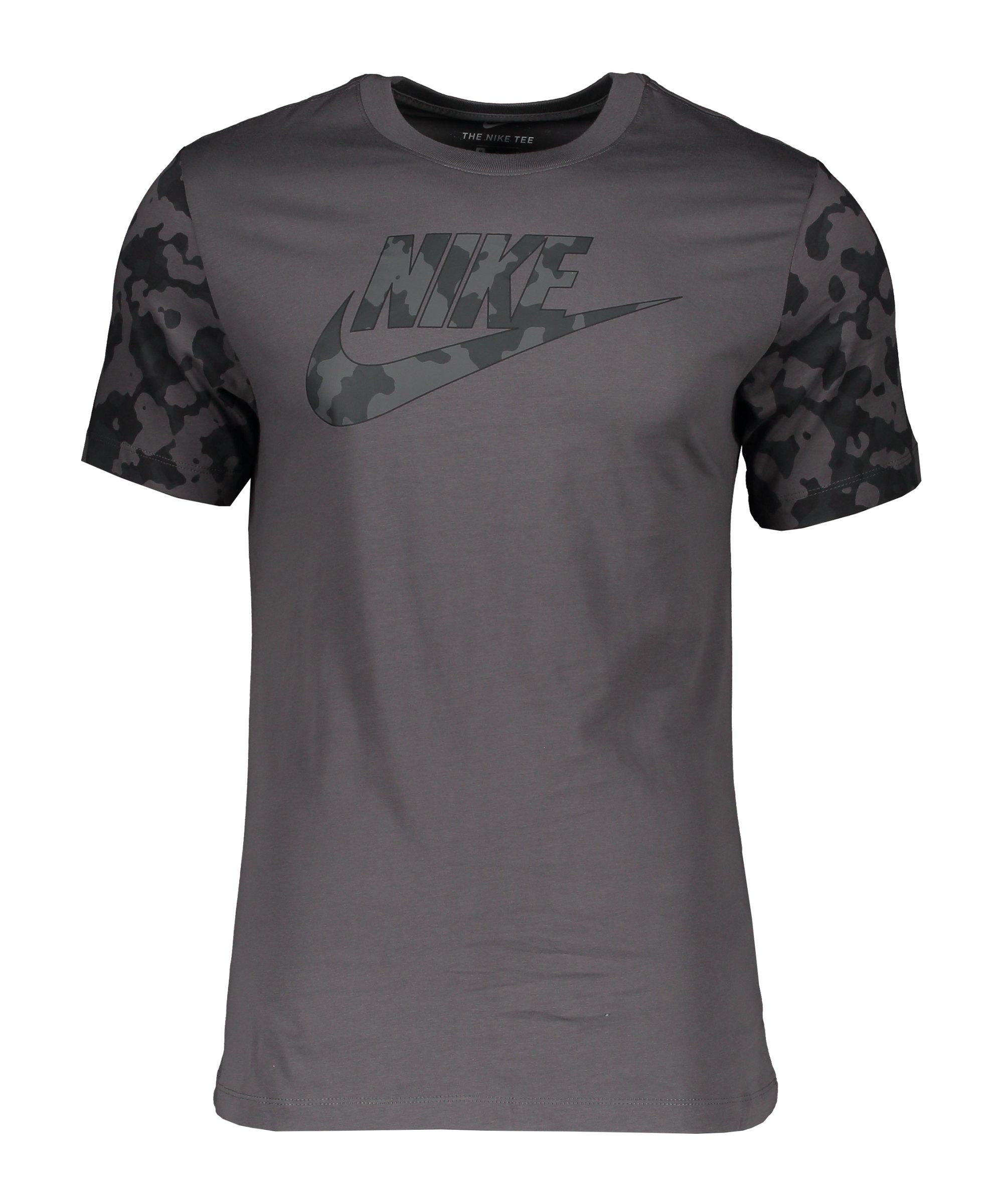 Nike Classic Graphic Camo T-Shirt Grau F068 - grau