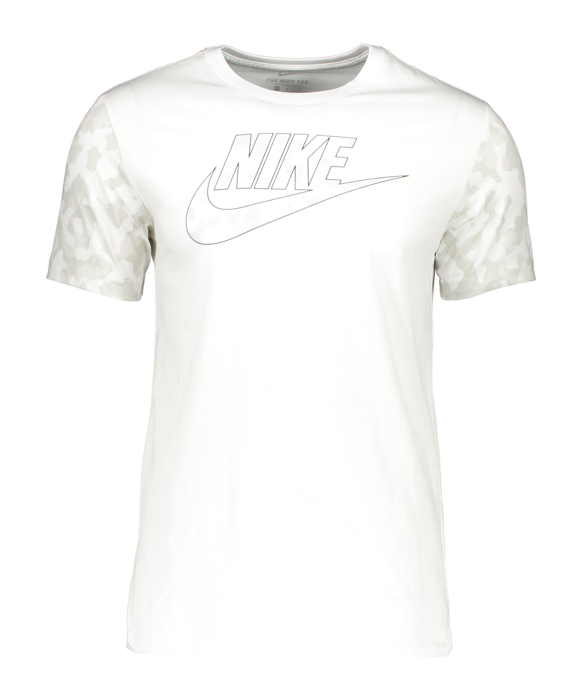 Nike Classic Graphic Camo T-Shirt Weiss F121 - weiss