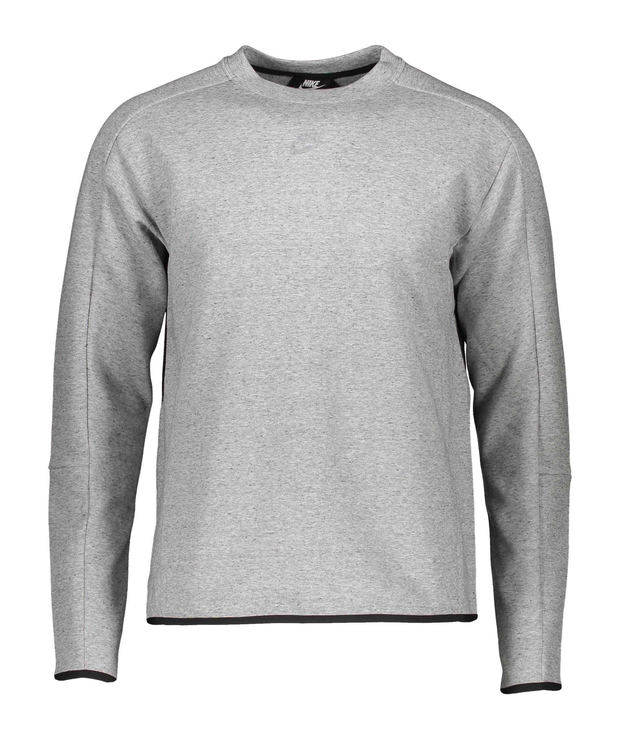 Nike Tech Fleece Crew Revival Sweatshirt Grau F010 - grau