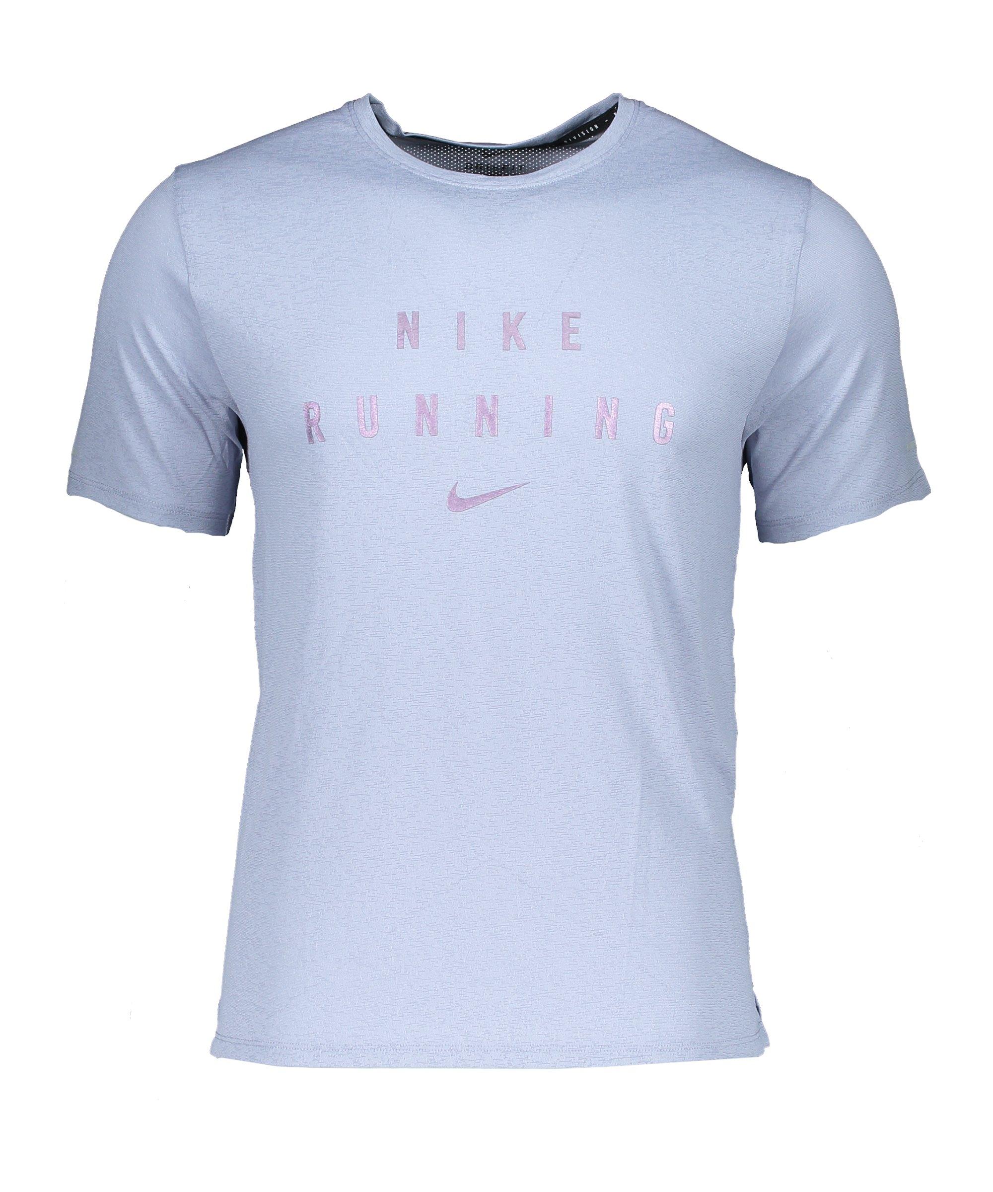 Nike Miler GX T-Shirt Running Lila F519 - lila