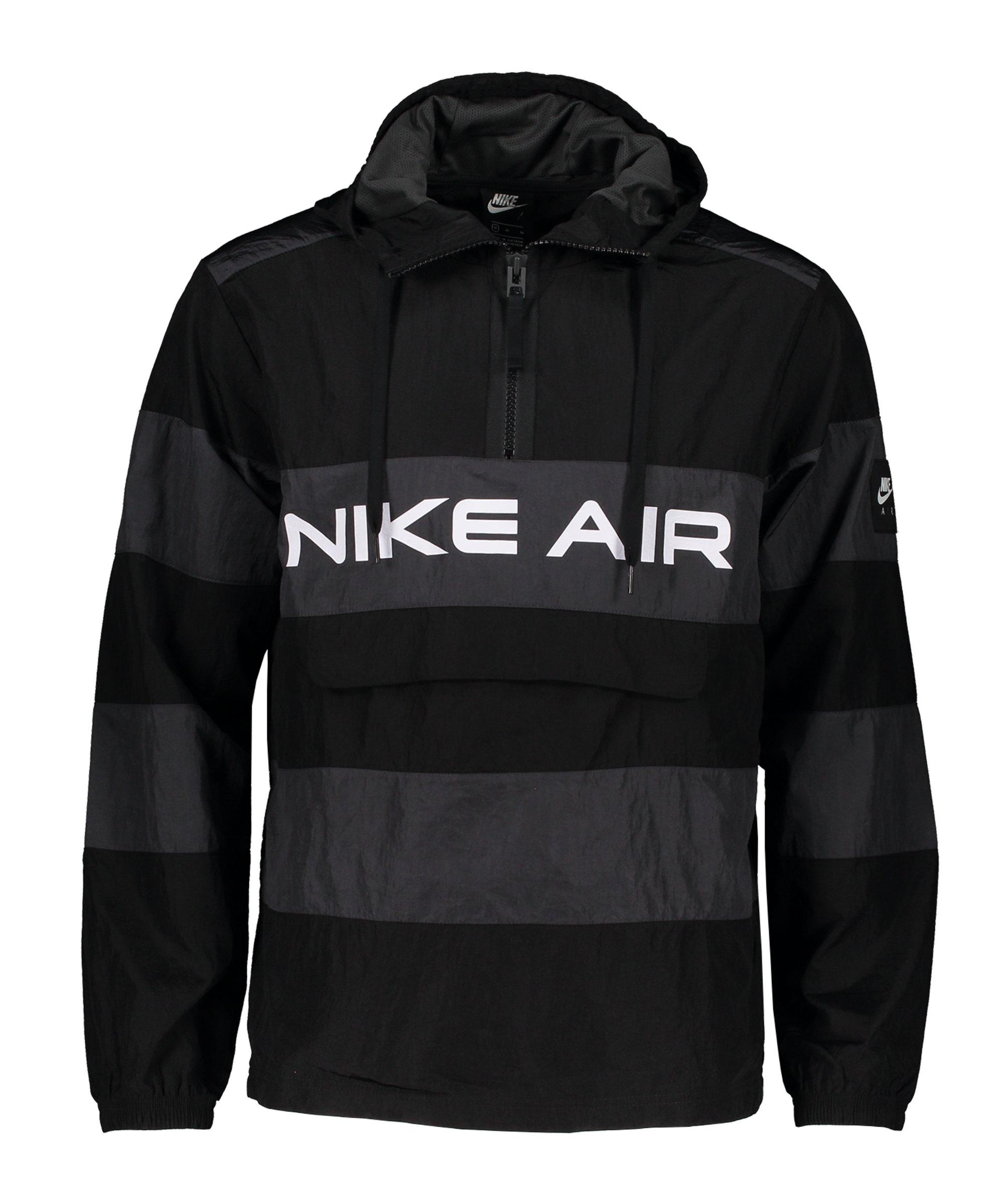 Nike Air Unlined Anorak Schwarz F010 - schwarz