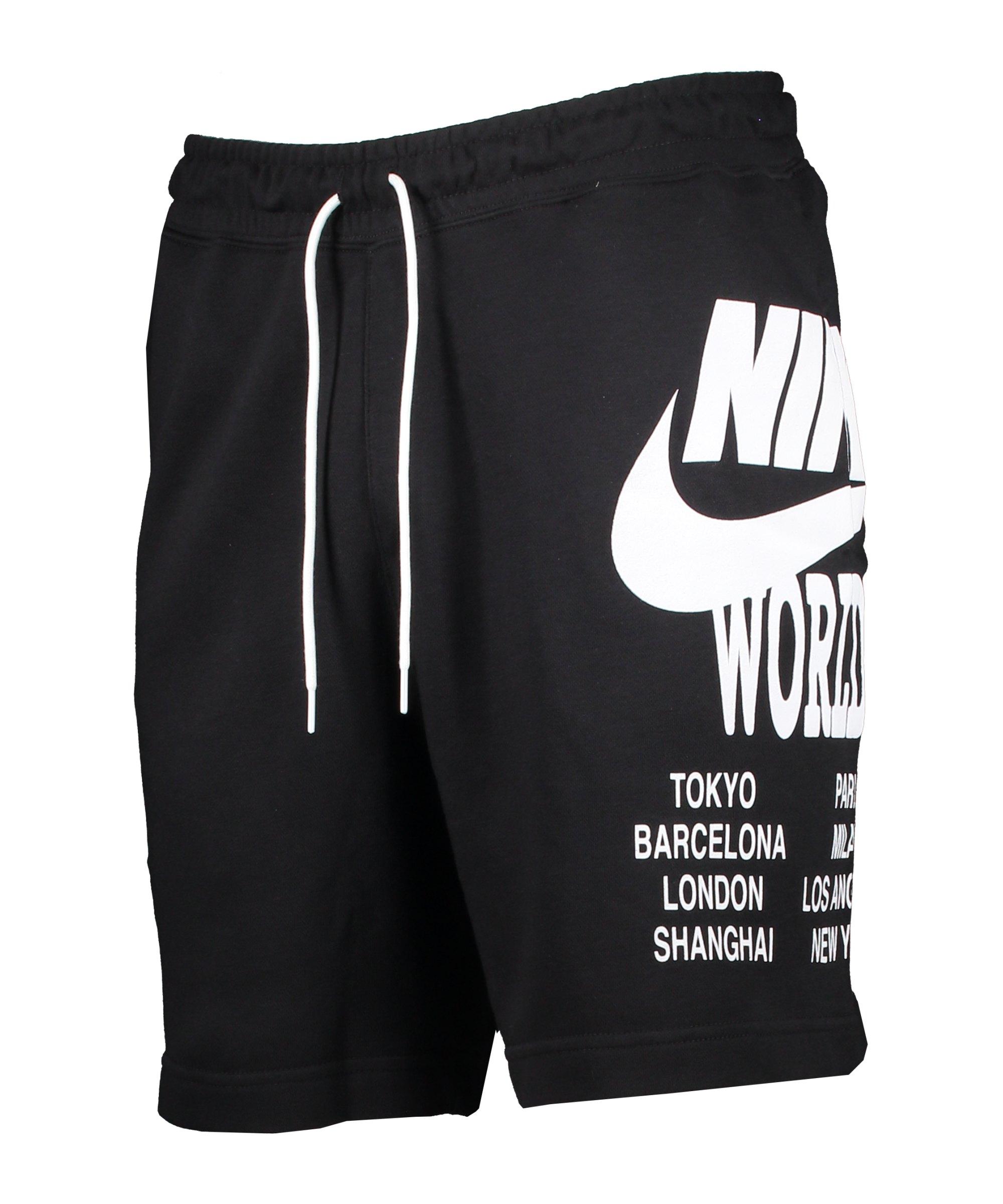 Nike World Tour Short Schwarz F010 - schwarz