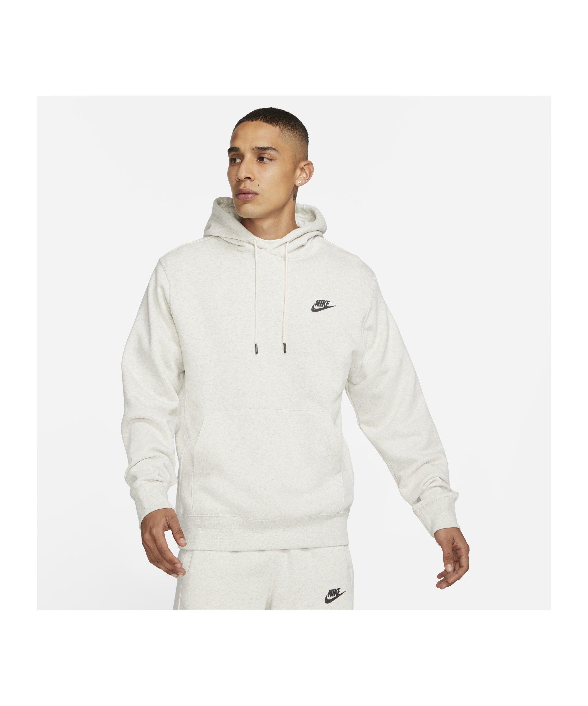 Nike Revival Hoody Grau F101 - weiss
