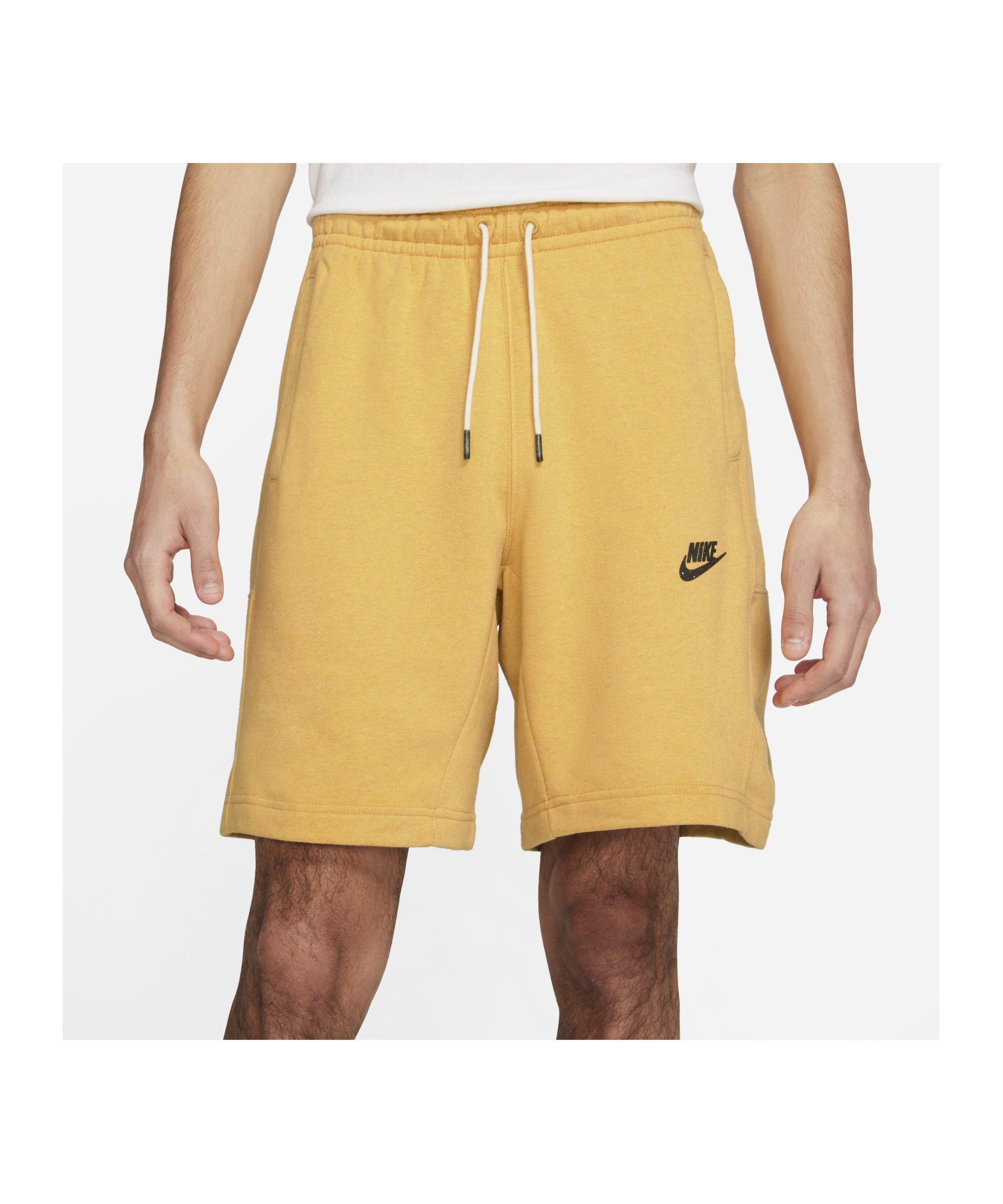 Nike Revival Short Gelb F761 - gelb