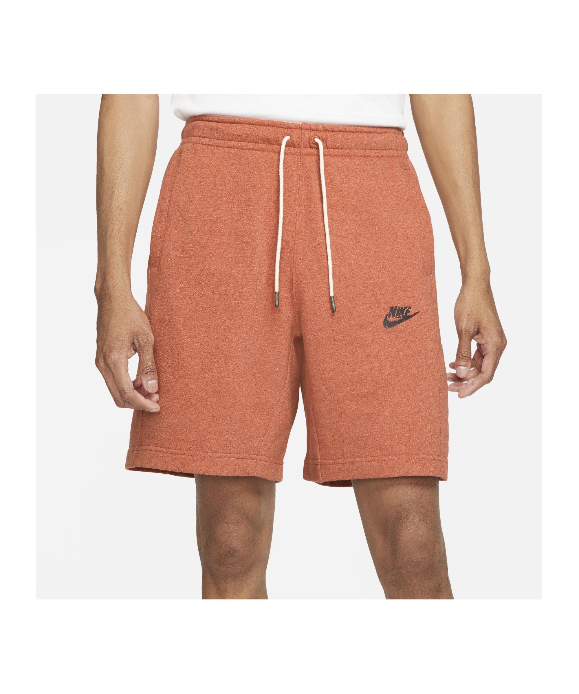 Nike Revival Short Orange F812 - orange