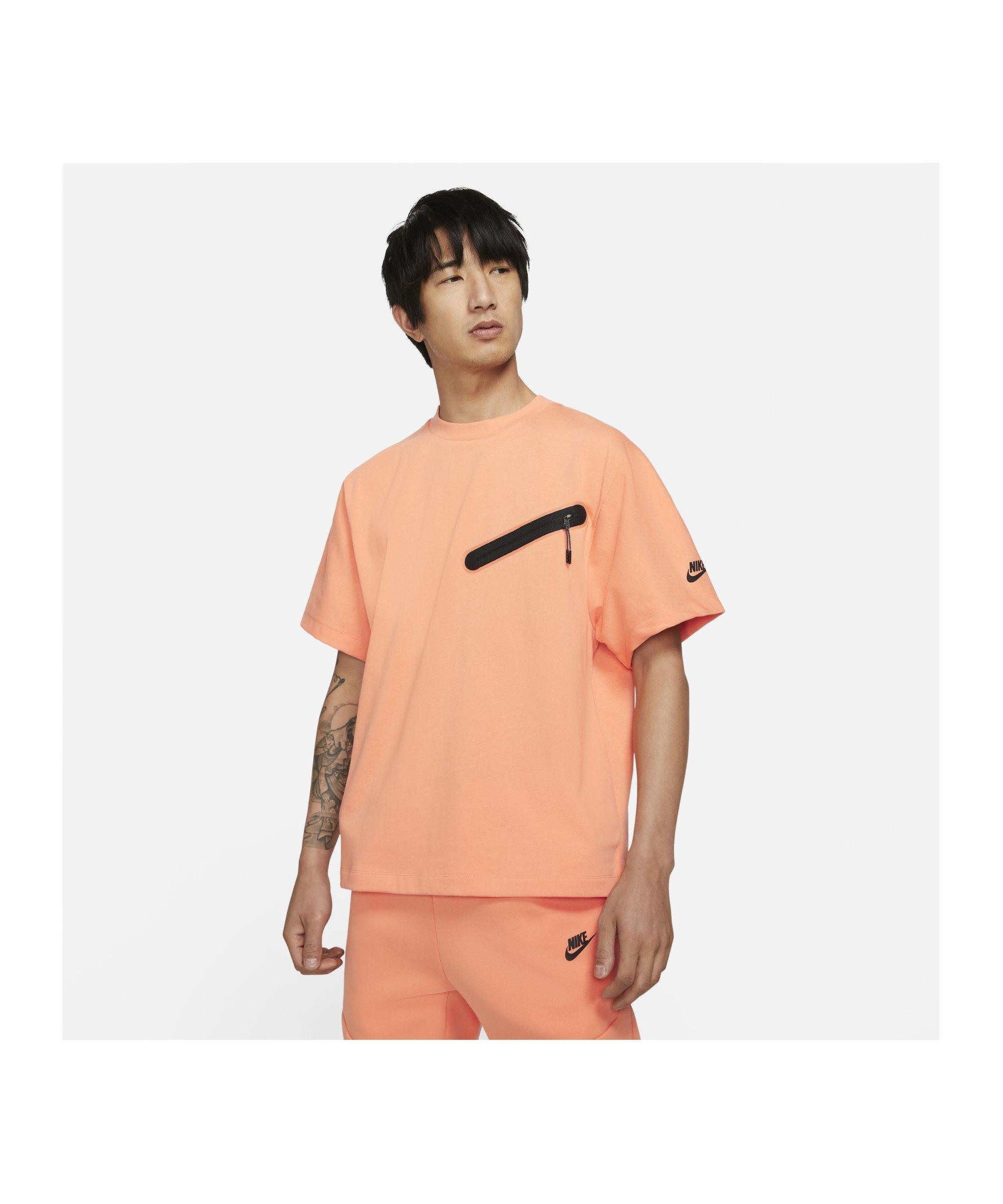 Nike Knit T-Shirt Orange F835 - orange