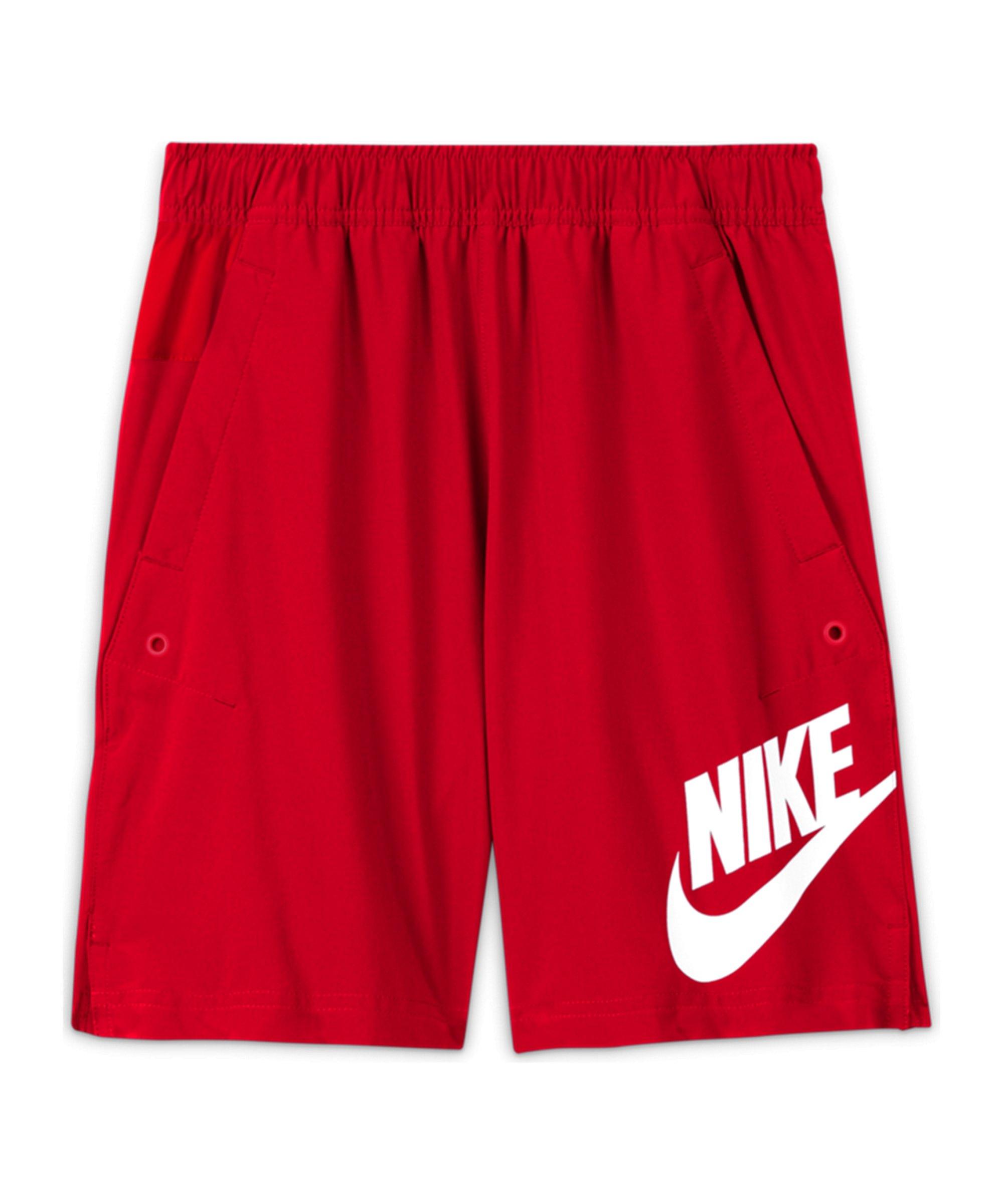 Nike Woven HBR Short Kids Rot F658 - rot