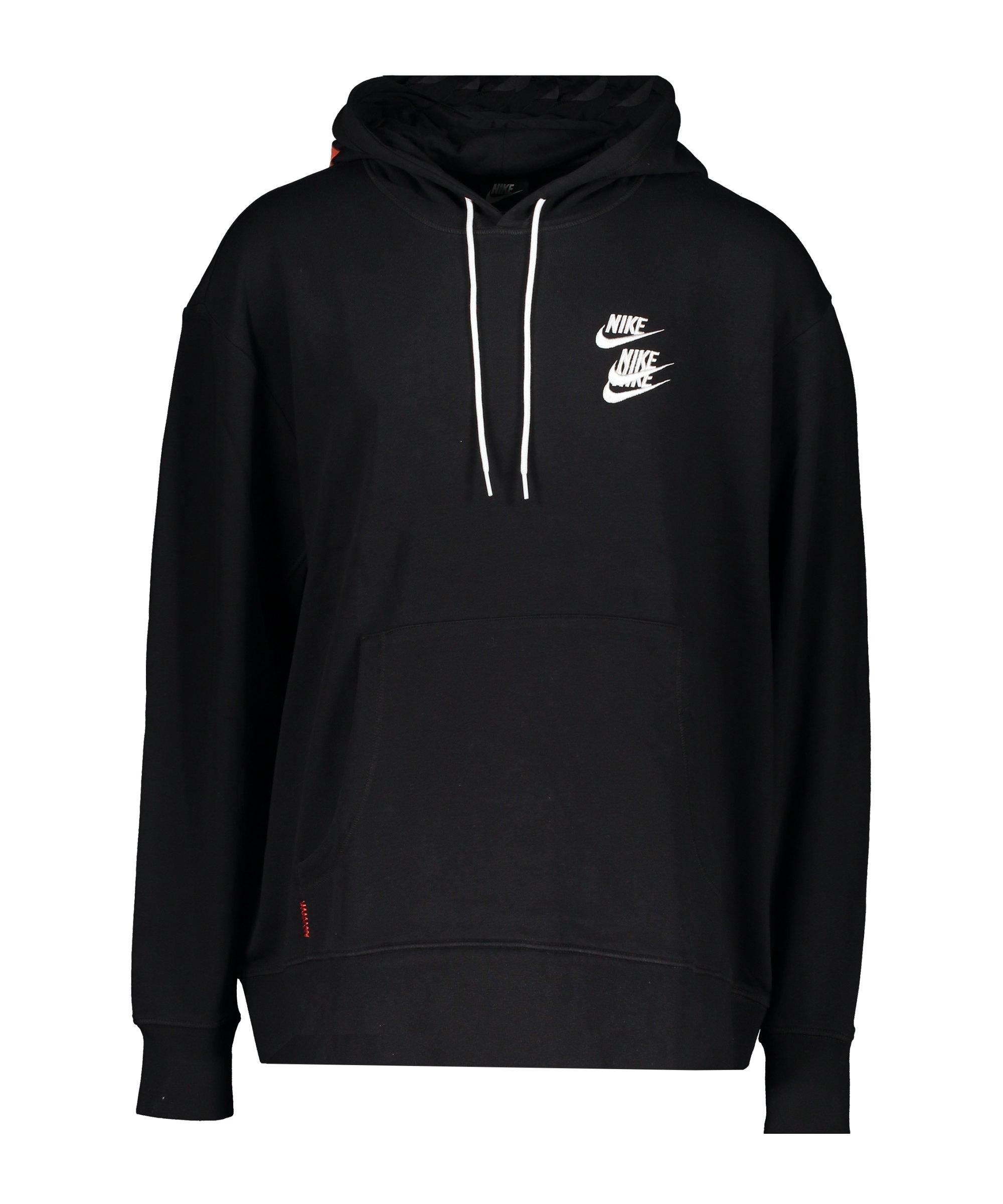 Nike World Tour Hoody Schwarz F010 - schwarz