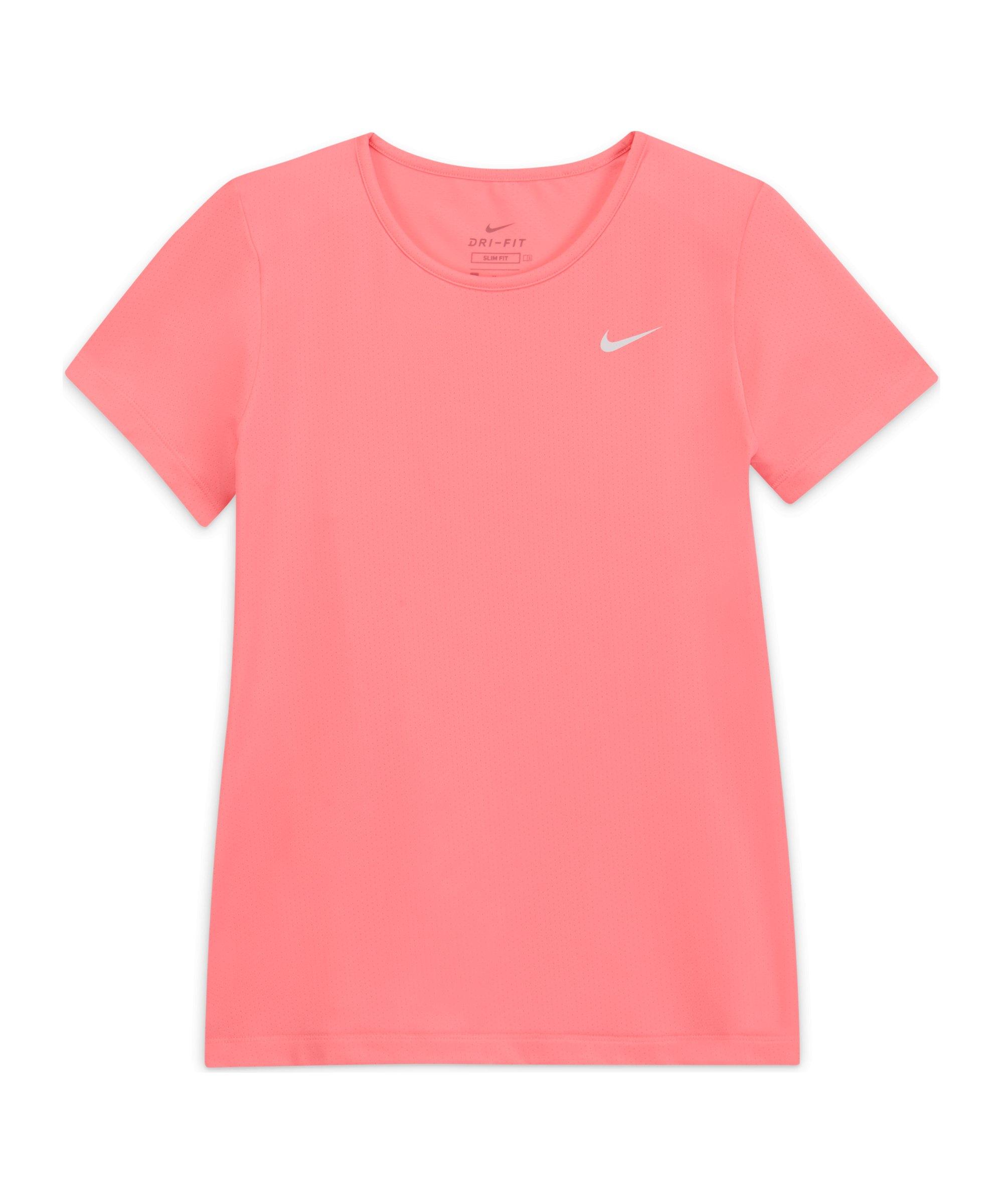Nike Pro T-Shirt Kids Rot F675 - rot