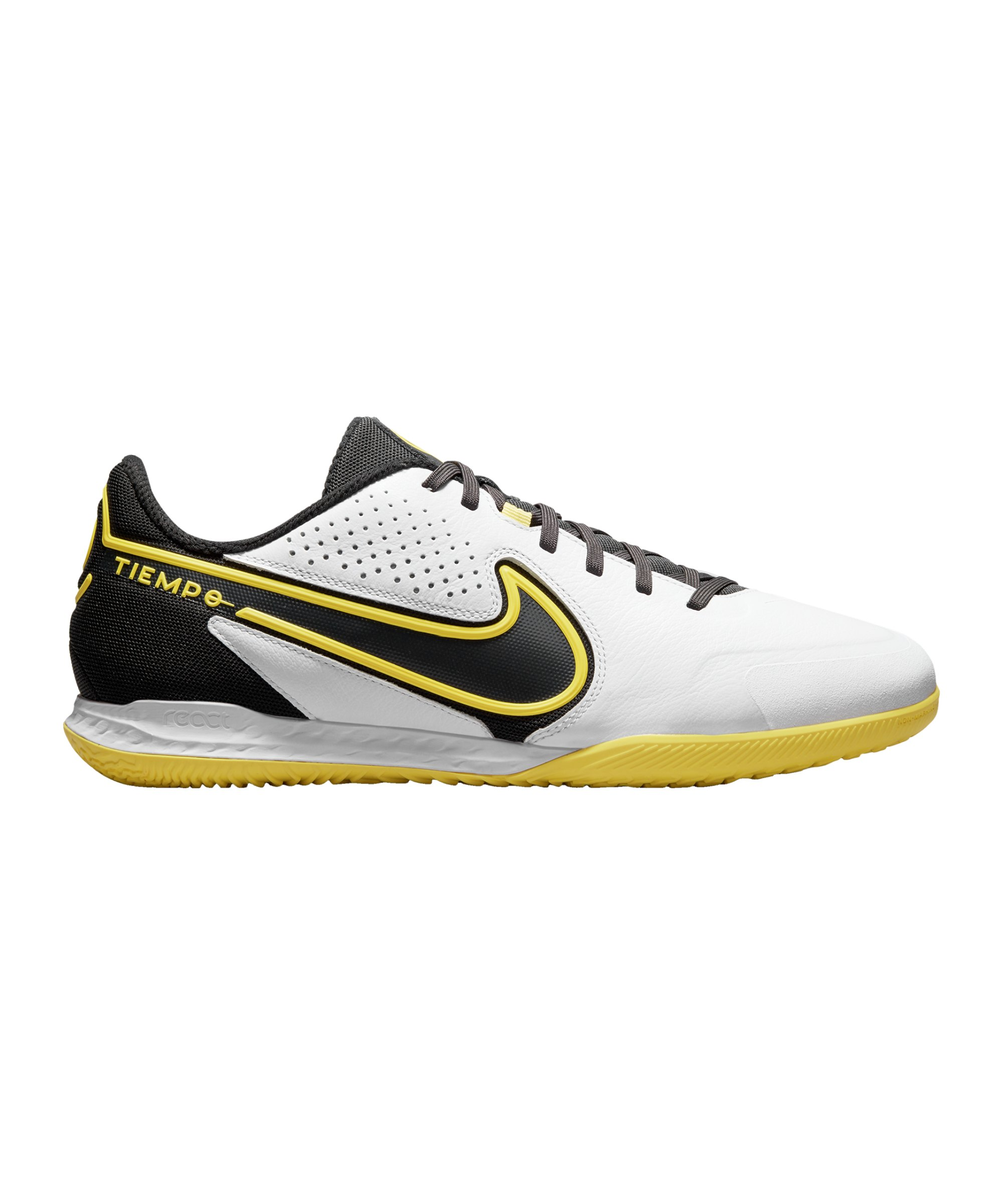 Nike React Tiempo Legend IX Pro IC Halle F107 - weiss