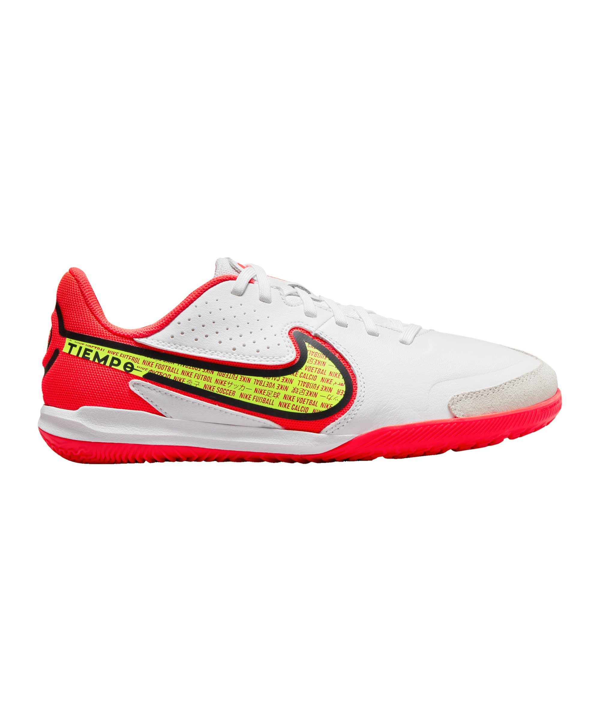 Nike Jr Tiempo Legend IX Academy IC Halle Kids Weiss F176 - weiss