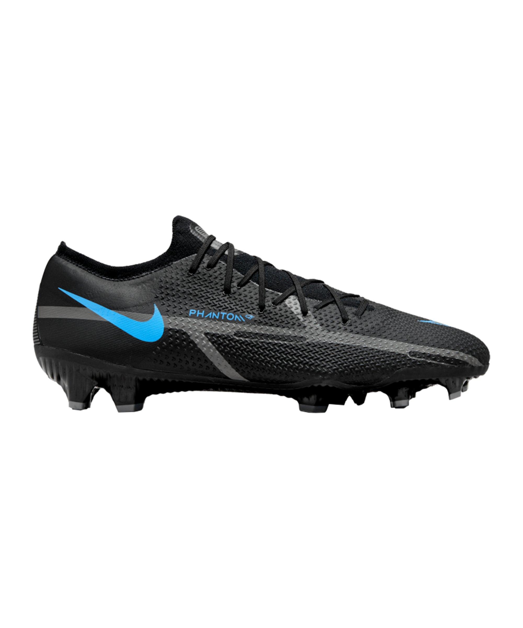 Nike Phantom GT2 Renew Pro FG Schwarz Blau F004 - schwarz