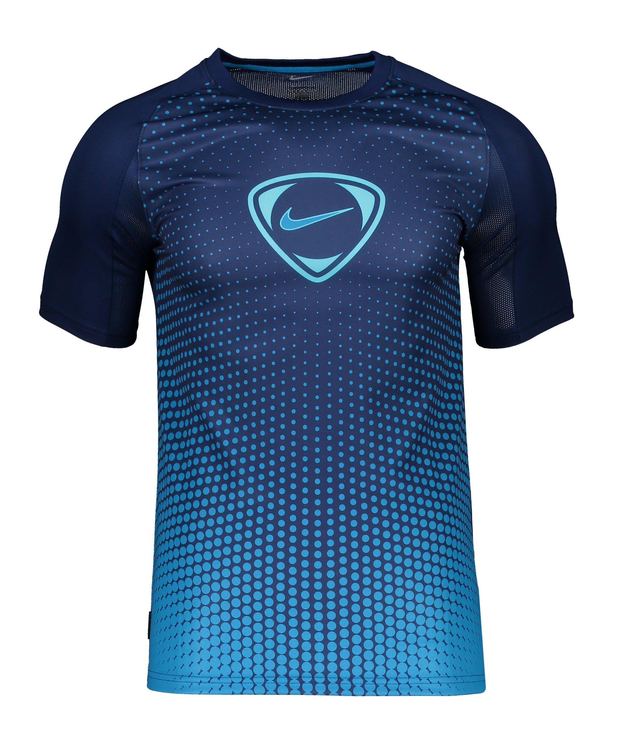 Nike Academy T-Shirt Blau F492 - blau