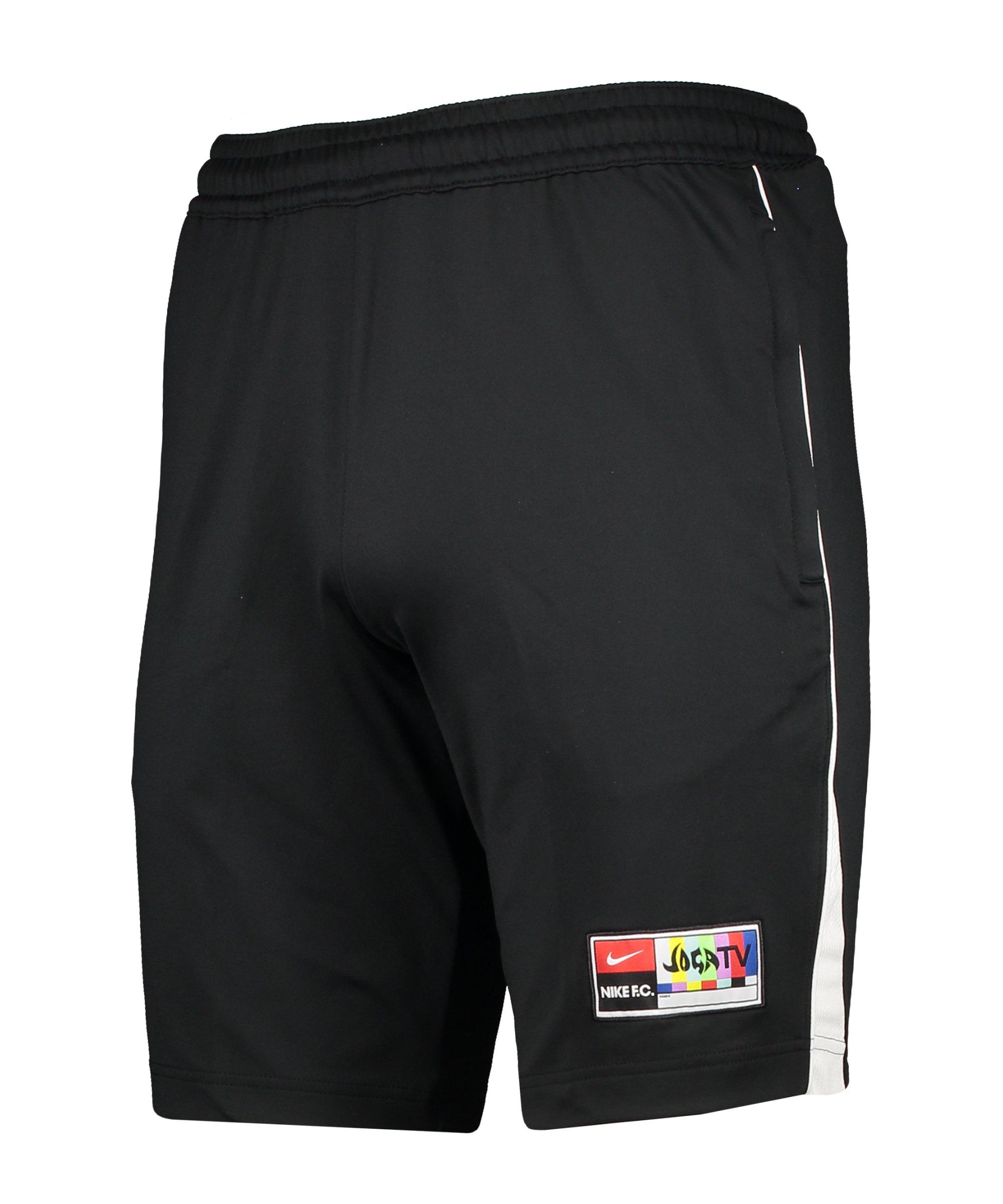 Nike F.C. Joga Bonito Short Schwarz F011 - schwarz