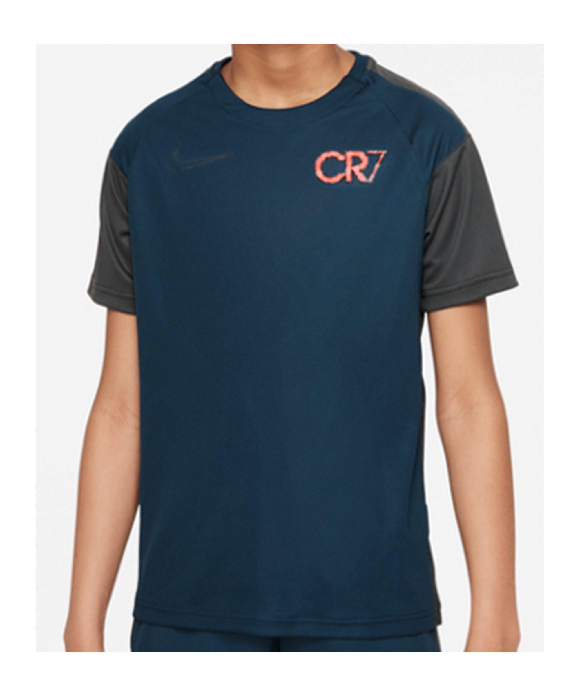 Nike CR7 Spark Positivity T-Shirt Kids Blau F454 - blau