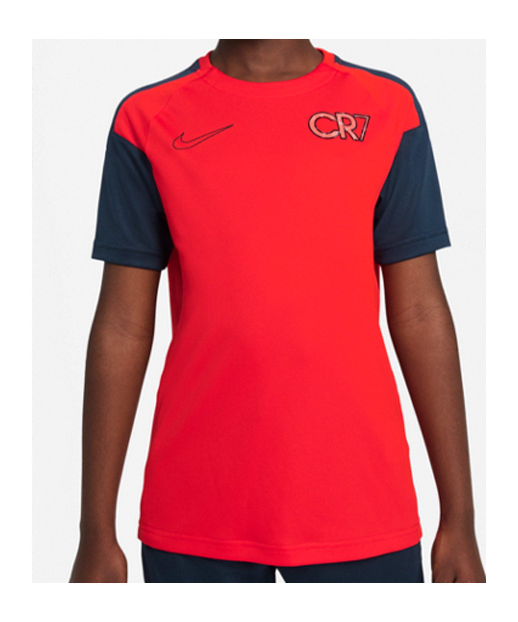 Nike CR7 Spark Positivity T-Shirt Kids Rot F673 - rot