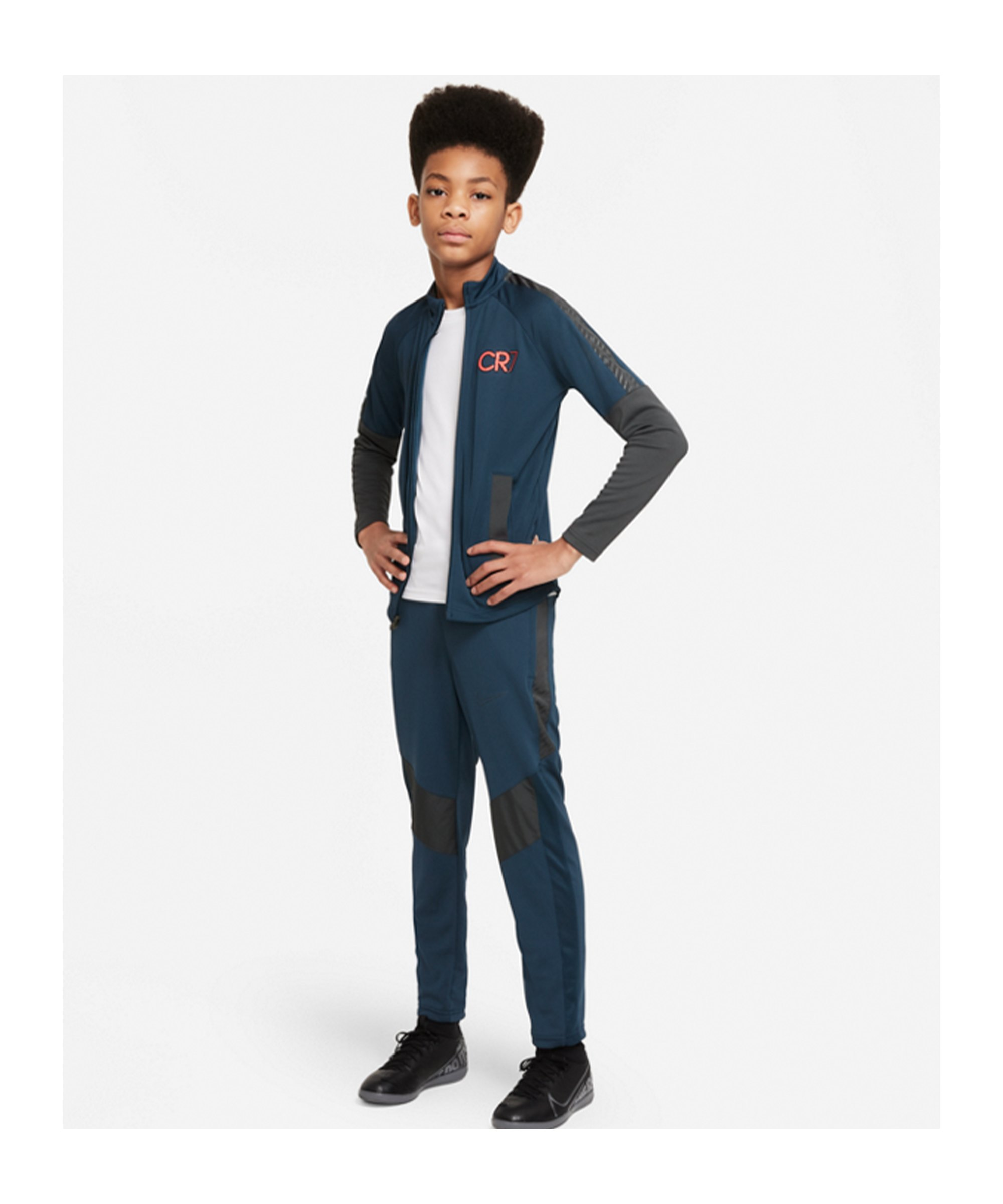 Nike CR7 Trainingsanzug Kids Blau F454 - blau