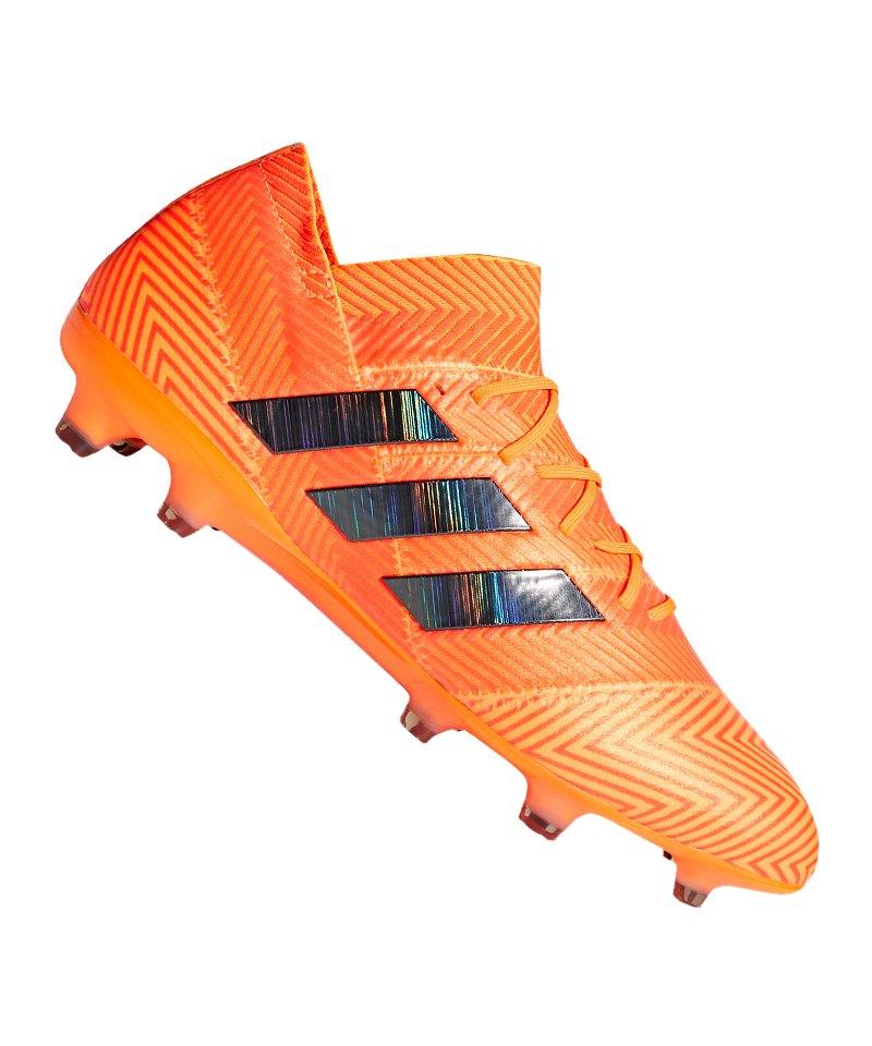 adidas NEMEZIZ 18.1 FG Orange Schwarz - orange