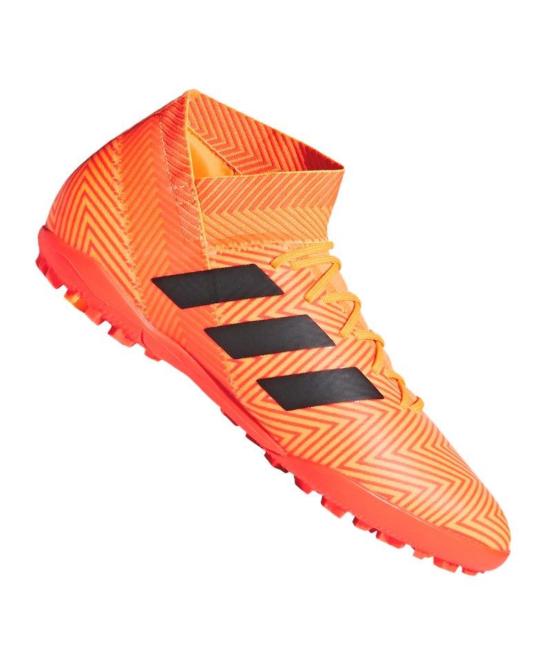 adidas NEMEZIZ Tango 18.3 TF Orange Schwarz - orange