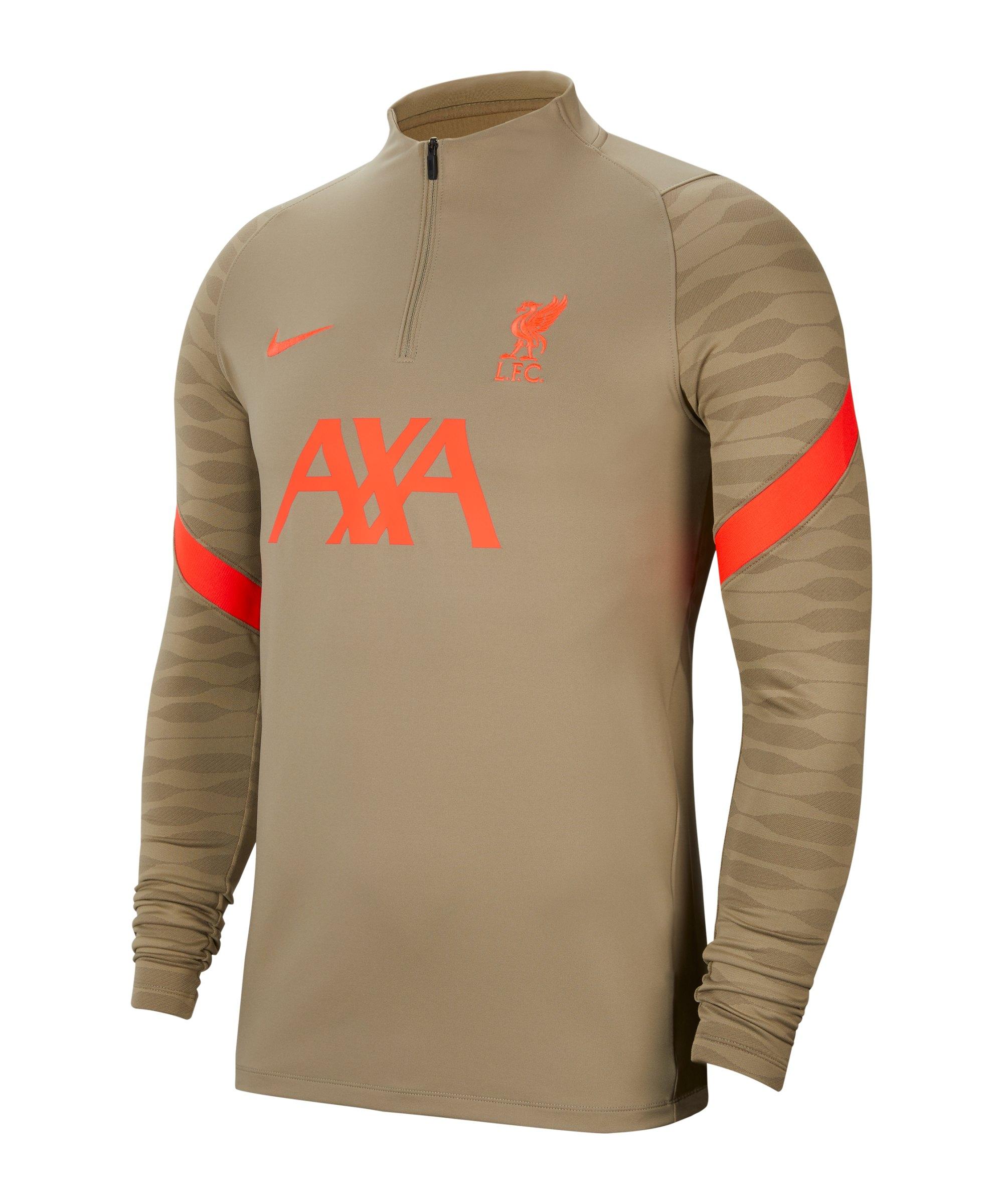 Nike FC Liverpool Strike Drill Top Beige F392 - beige