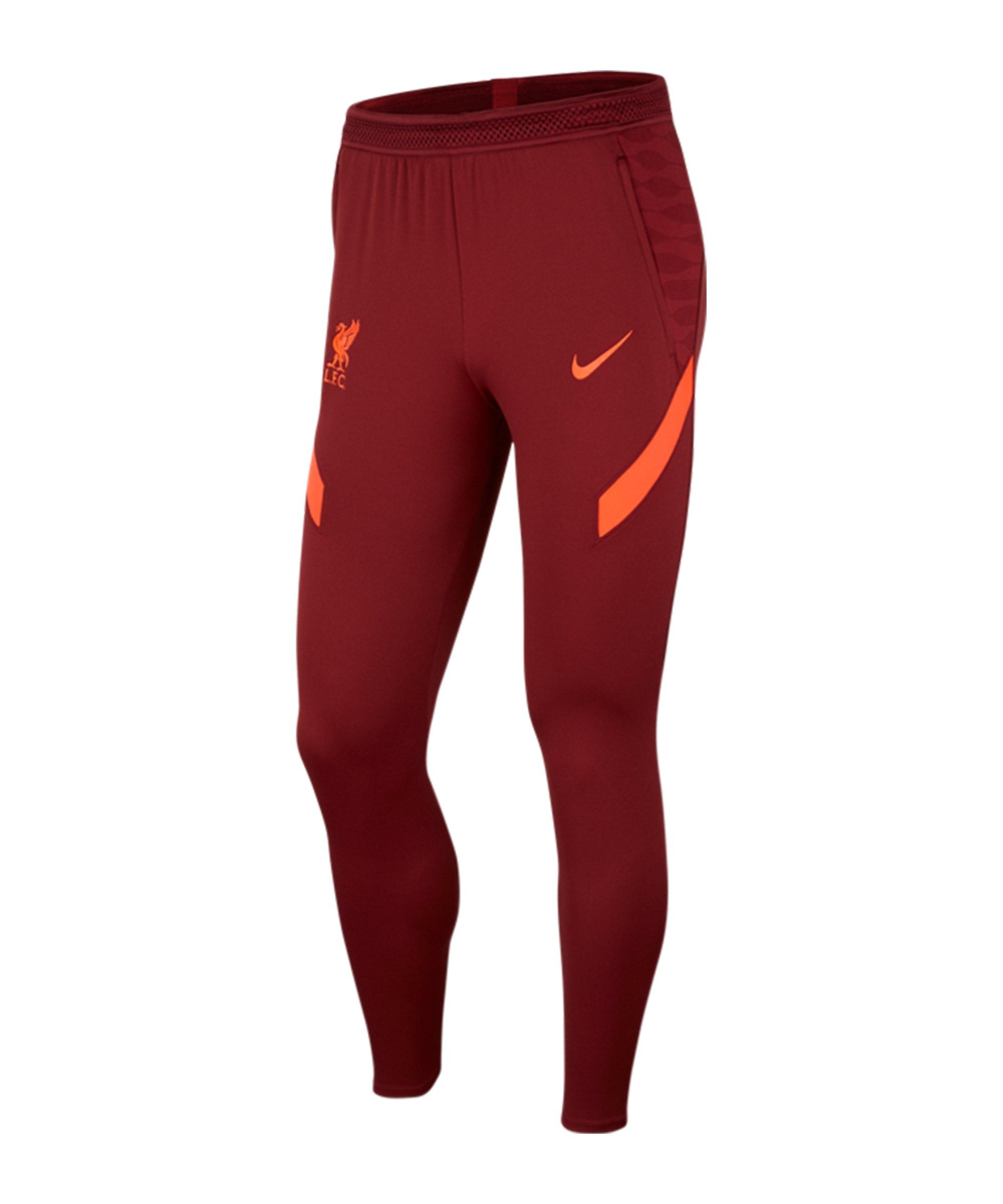 Nike FC Liverpool Strike Trainingshose F677 - rot