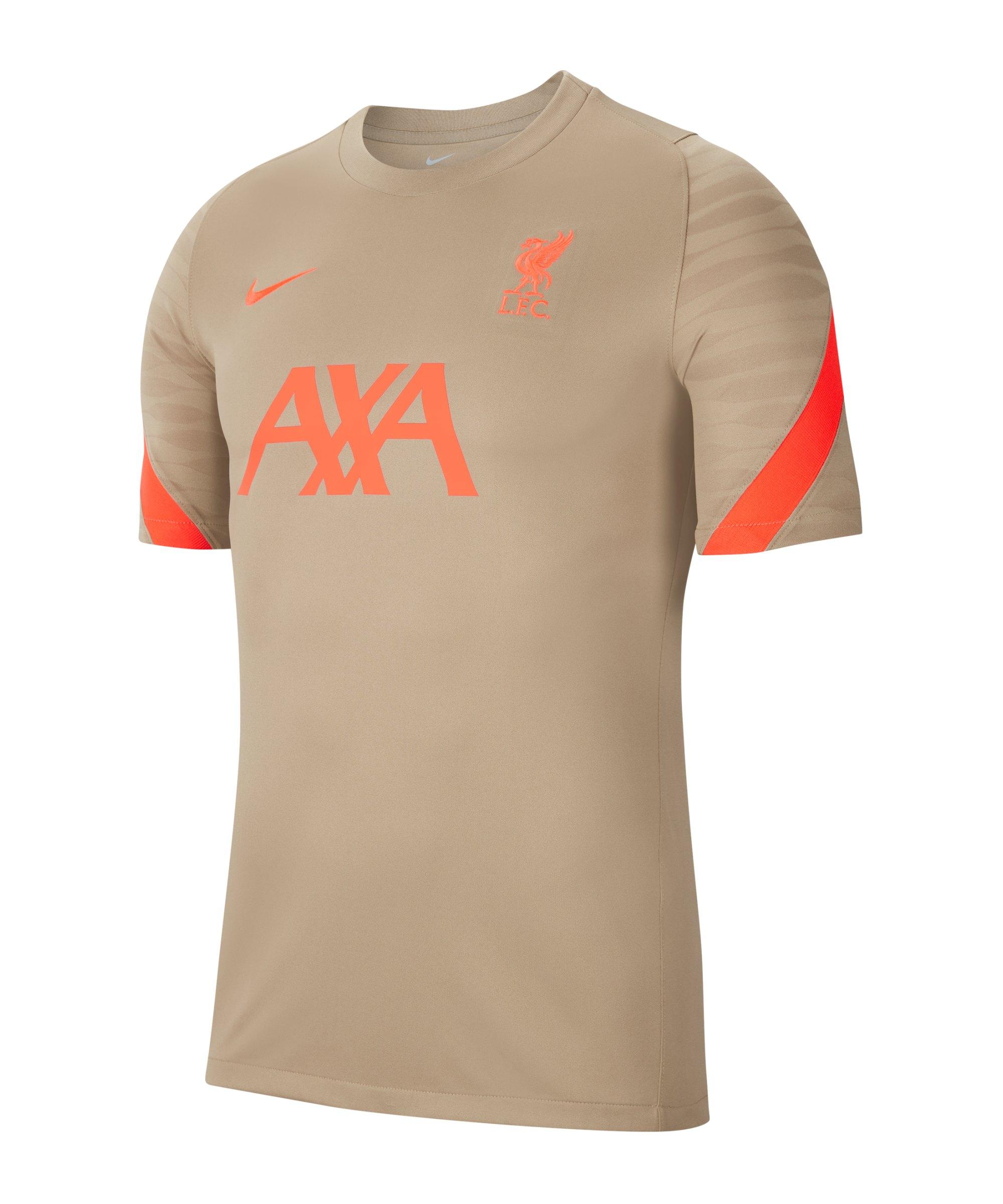 Nike FC Liverpool Strike T-Shirt Beige F392 - beige