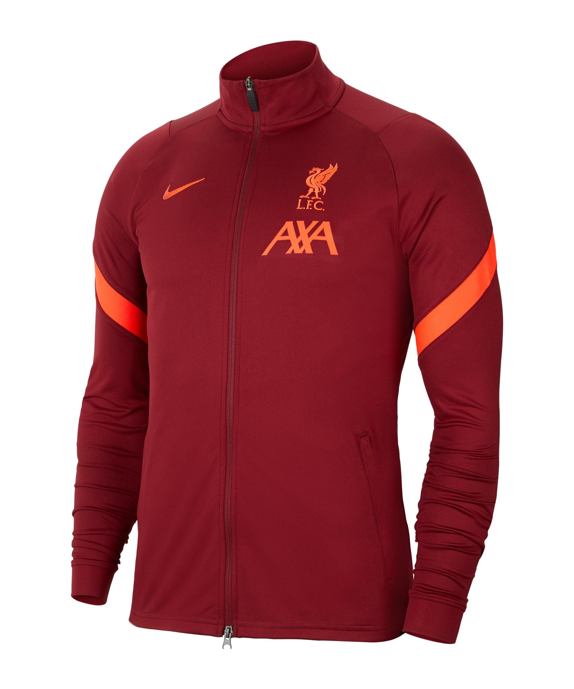 Nike FC Liverpool Strike Trainingsjacke F678 - rot