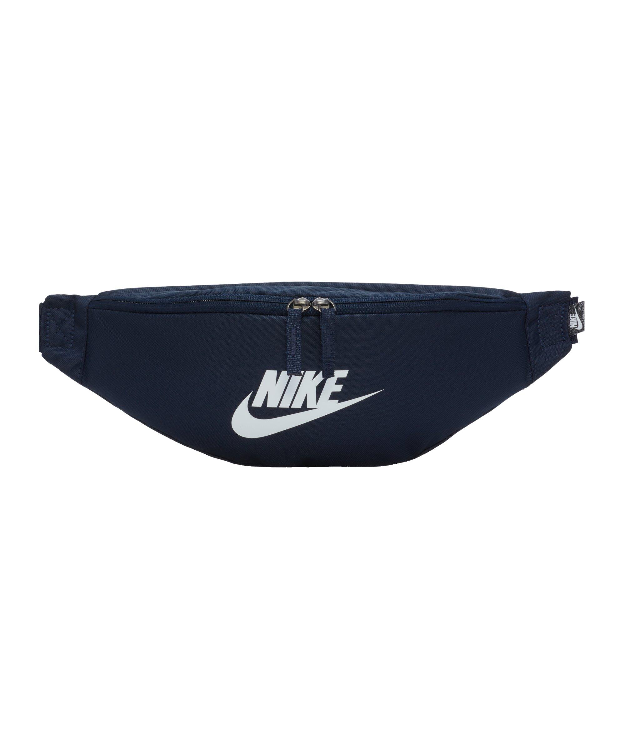 Nike Heritage Hüfttasche Blau Weiss F451 - blau