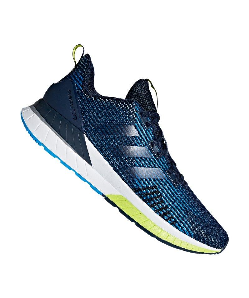 adidas Questar TND Running Blau Gelb - blau