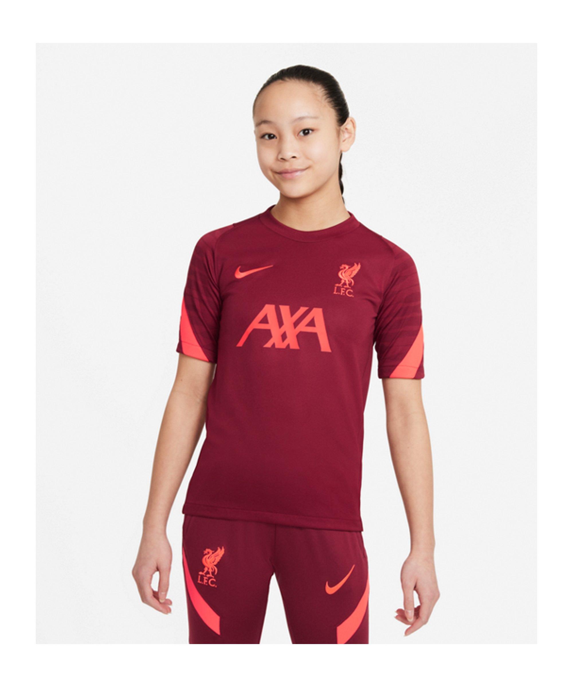 Nike FC Liverpool Strike T-Shirt Kids F677 - rot