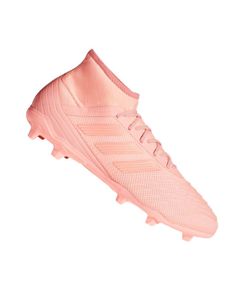 adidas Predator 18.2 FG Rosa - rosa