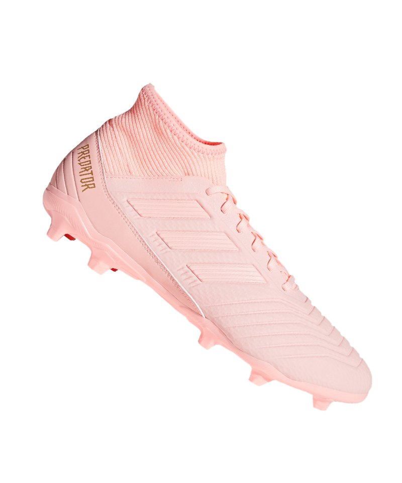 adidas Predator 18.3 FG Rosa - rosa