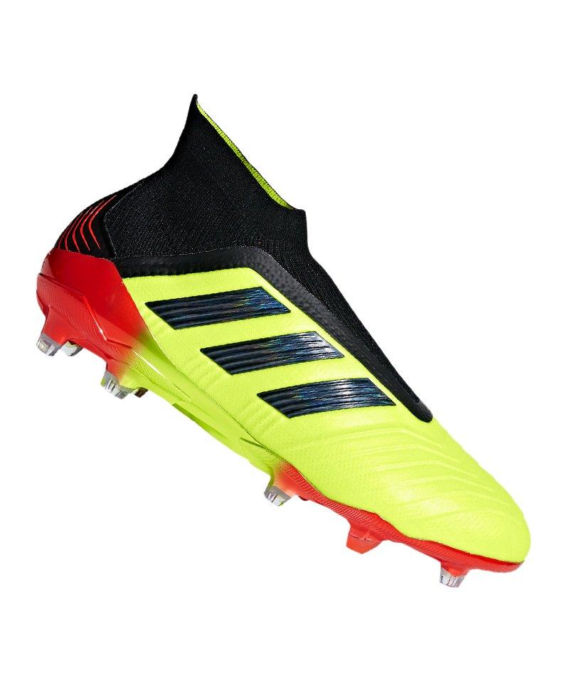 adidas Predator 18+ FG Gelb Schwarz - gelb